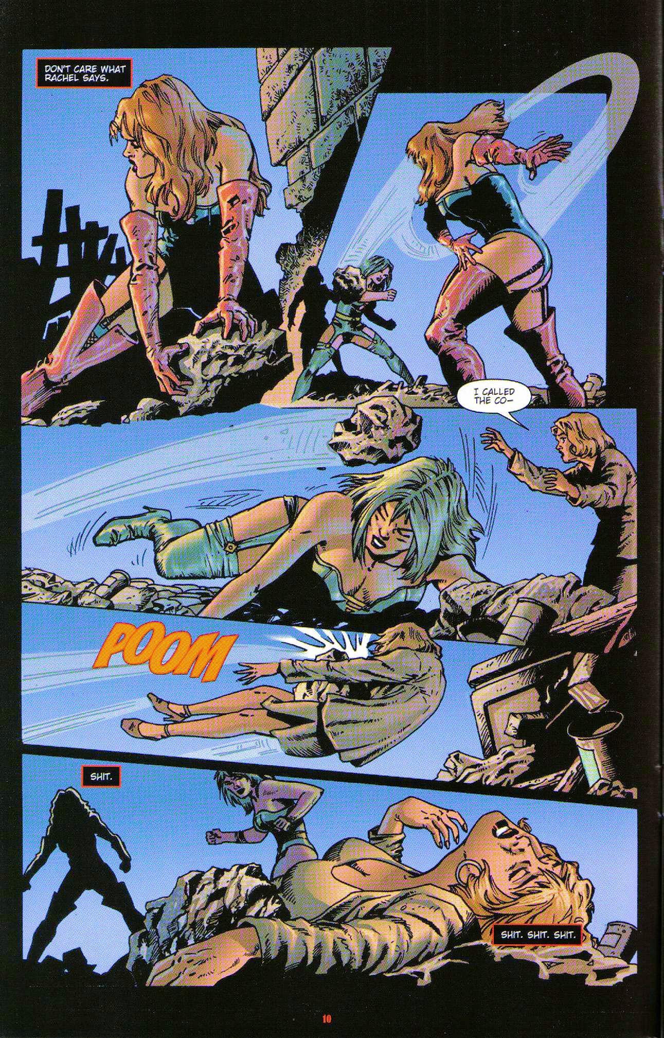 Read online Dominatrix comic -  Issue #6 - 12