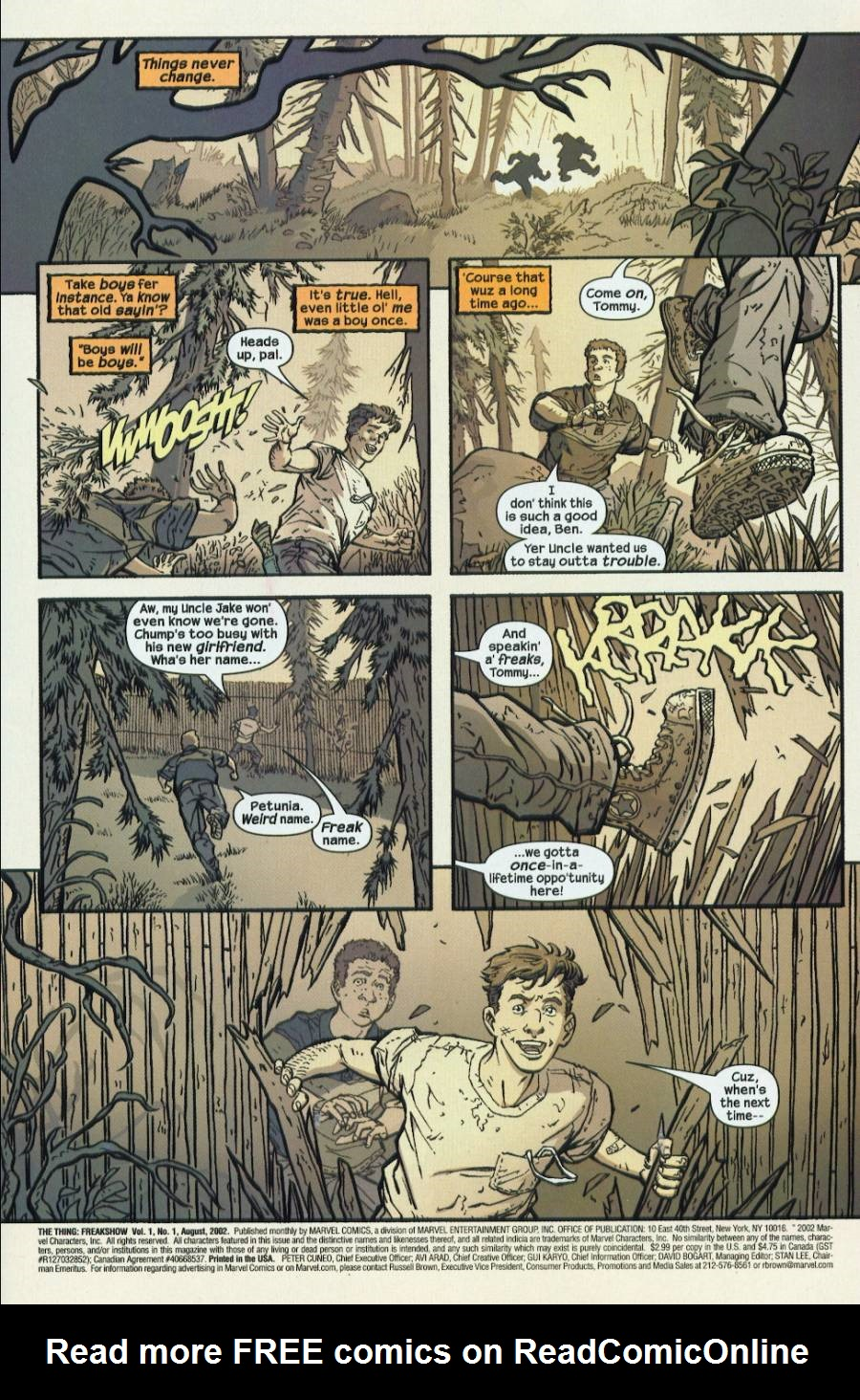 The Thing: Freakshow 1 Page 2