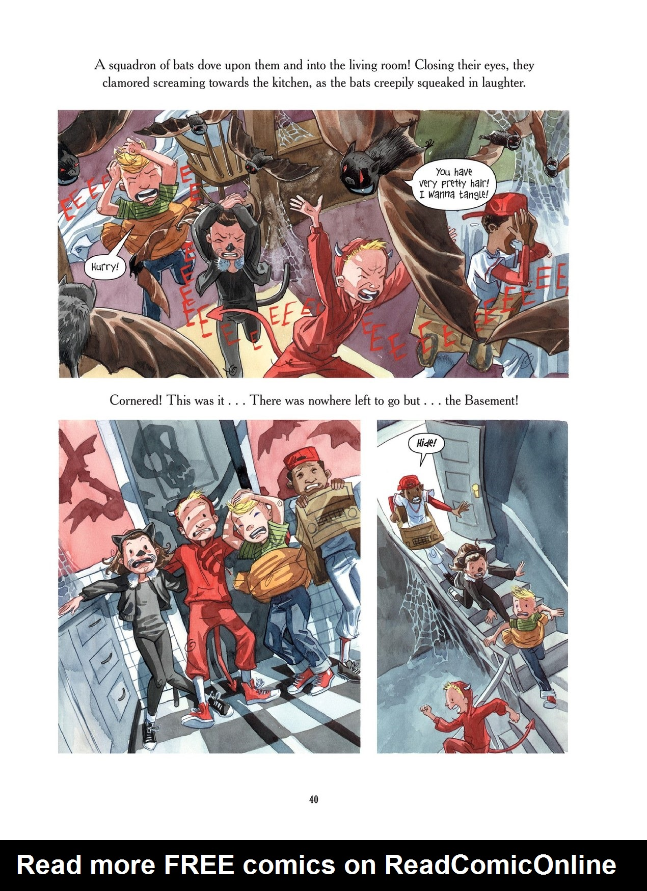 Read online Scary Godmother comic -  Issue # TPB - 40