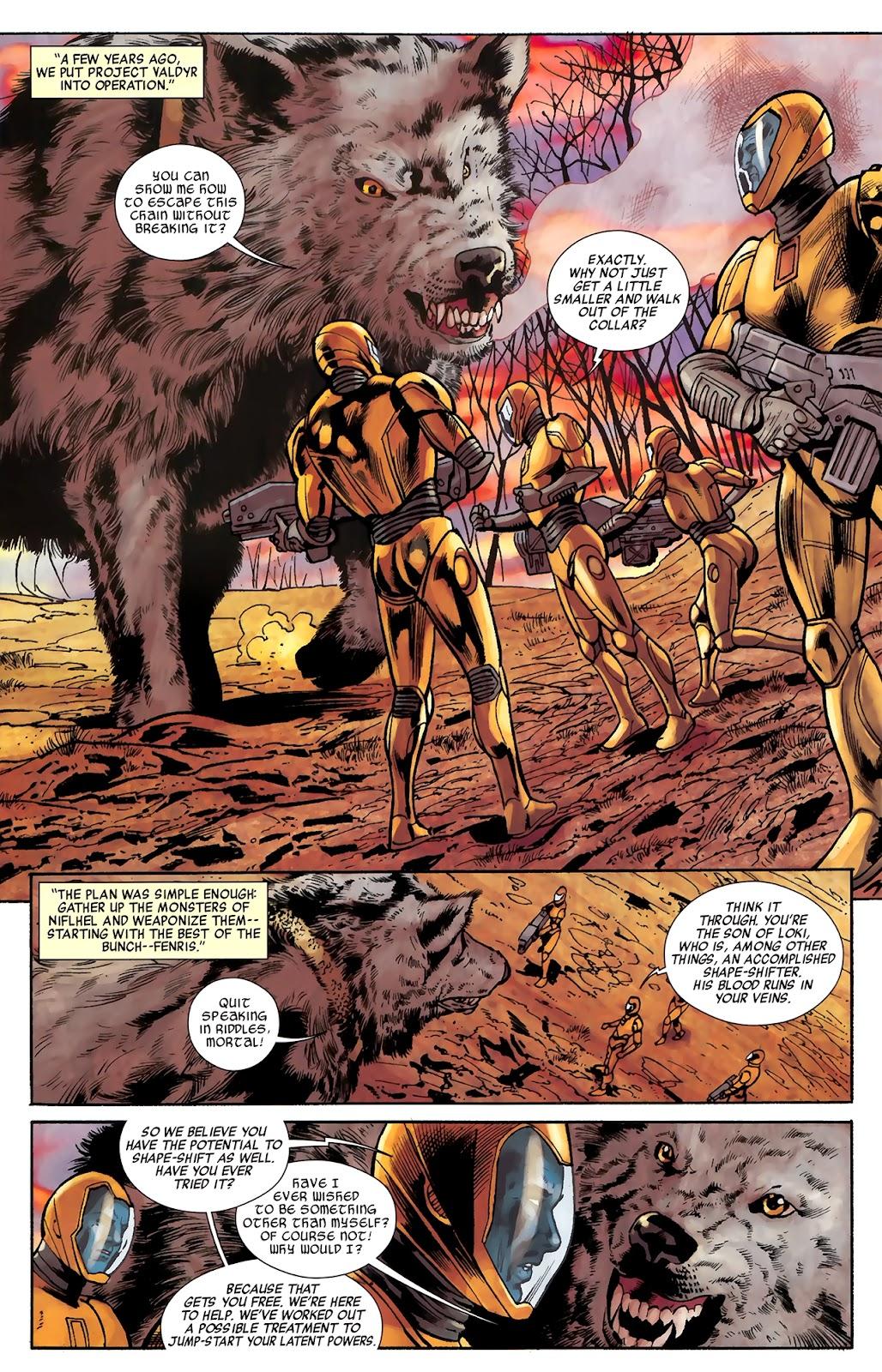 Warriors Three Issue #3 #3 - English 11