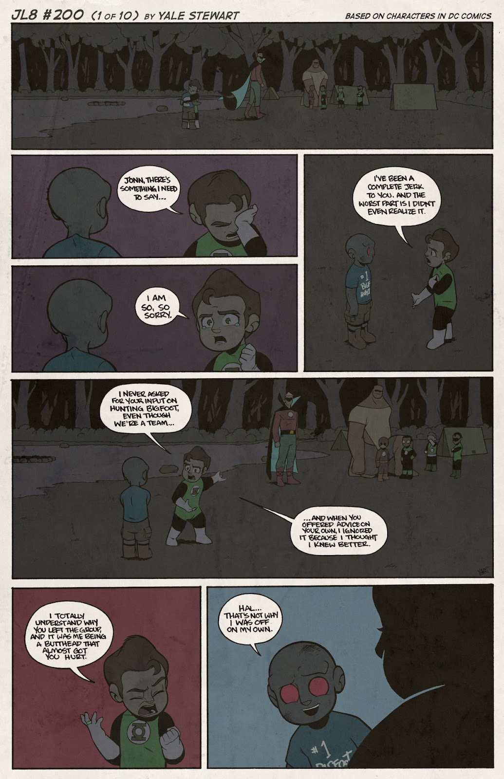 Read online JL8 – The Complete Collection comic -  Issue # TPB (Part 2) - 24