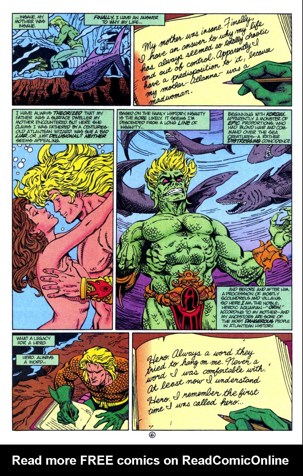 Read online Aquaman: Time and Tide comic -  Issue #1 - 7