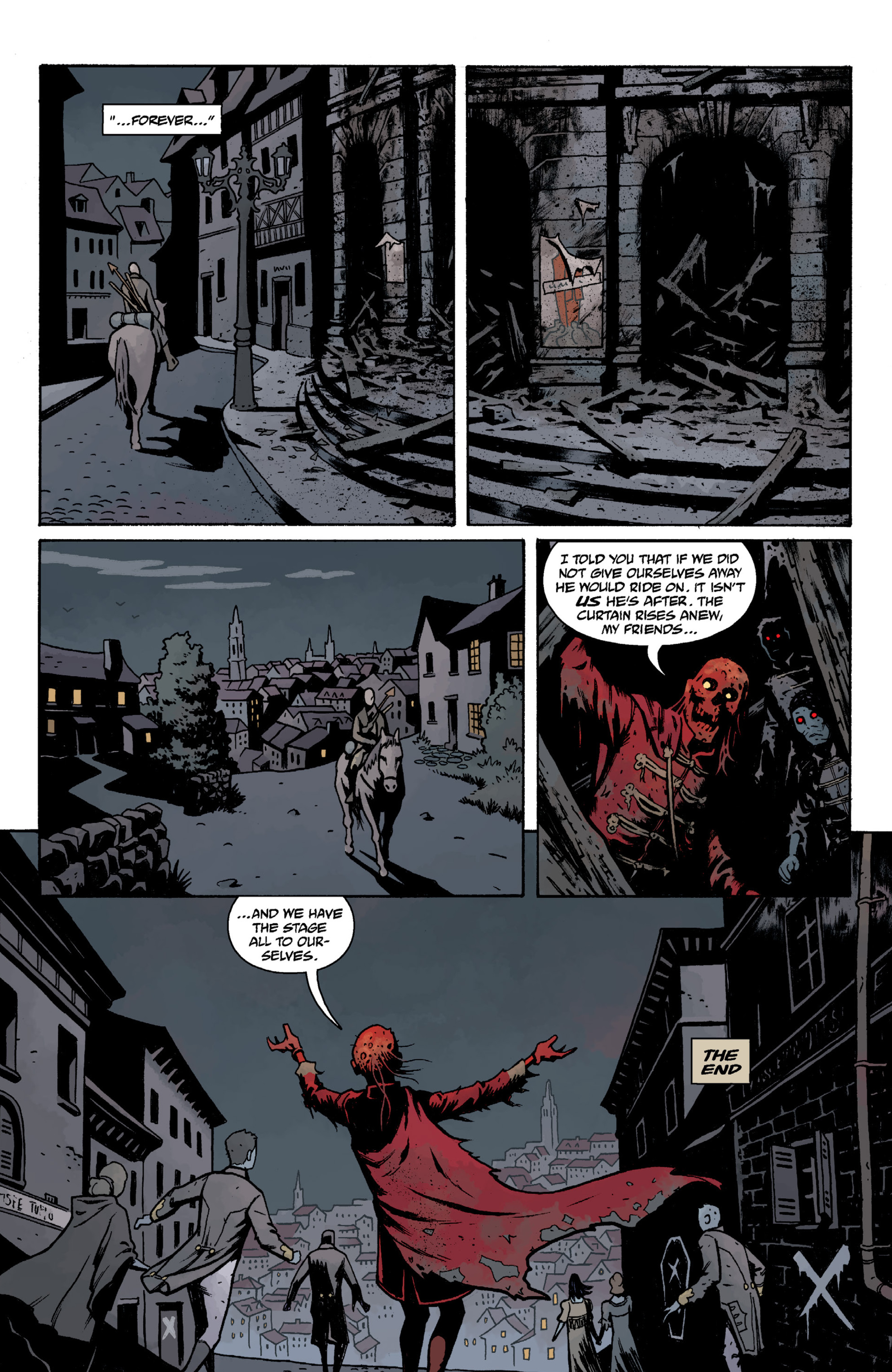 Read online Baltimore Volume 3: A Passing Stranger and Other Stories comic -  Issue # Full - 72