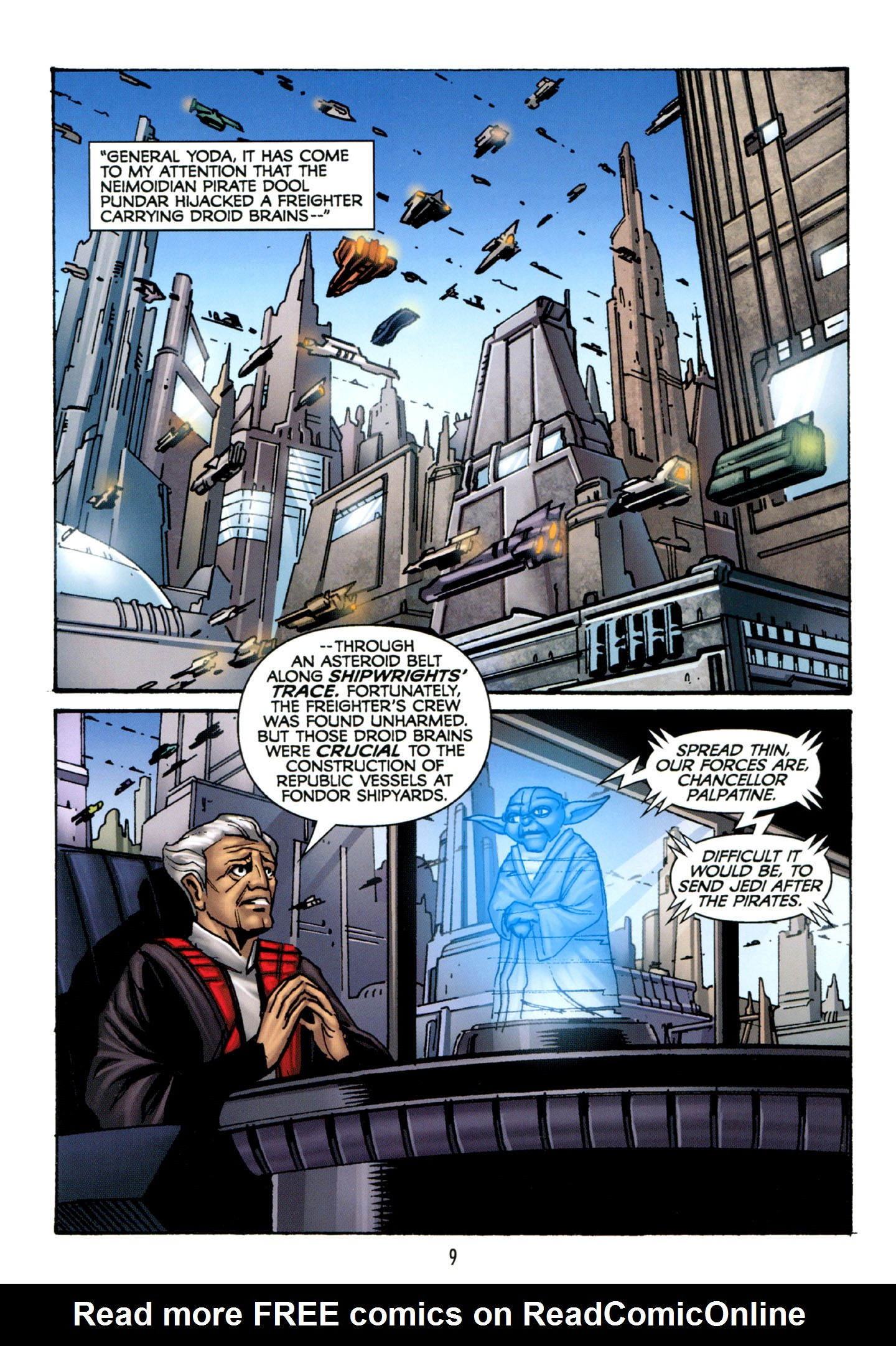 Read online Star Wars: The Clone Wars - Strange Allies comic -  Issue # Full - 10