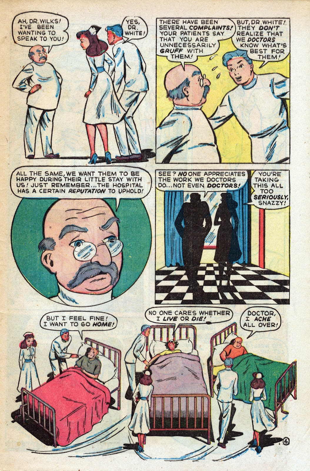 Read online Nellie The Nurse (1945) comic -  Issue #17 - 47