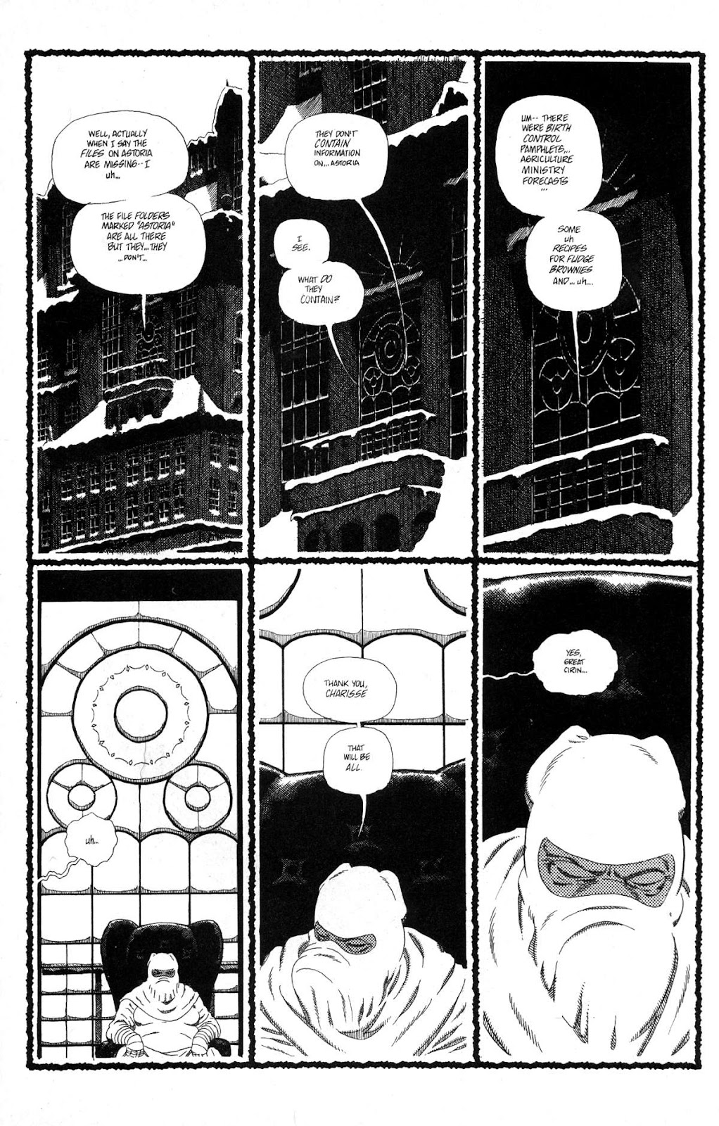 Cerebus Issue #163 #162 - English 19
