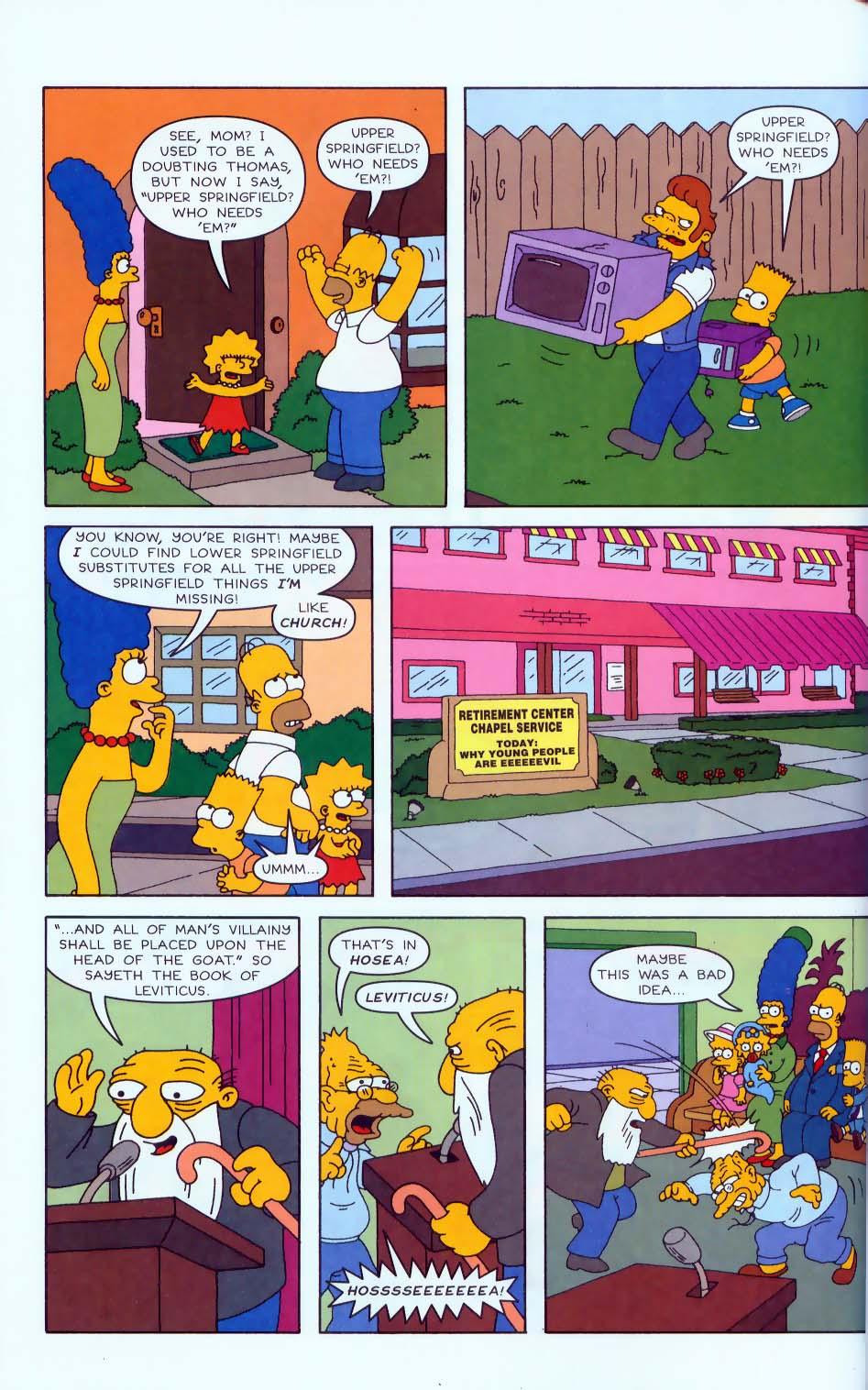 Read online Simpsons Comics comic -  Issue #50 - 15