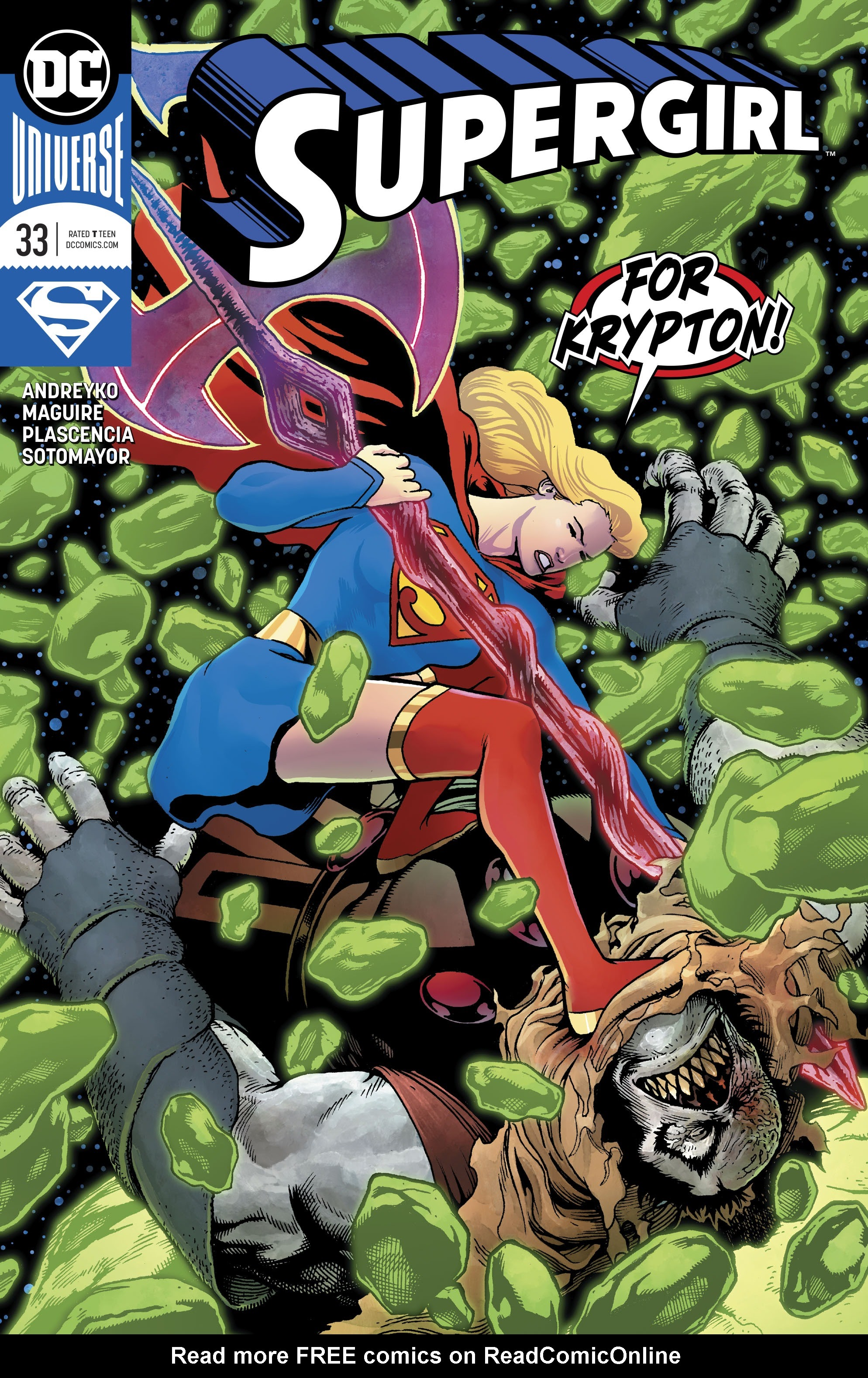 Supergirl (2016) 33 Page 1