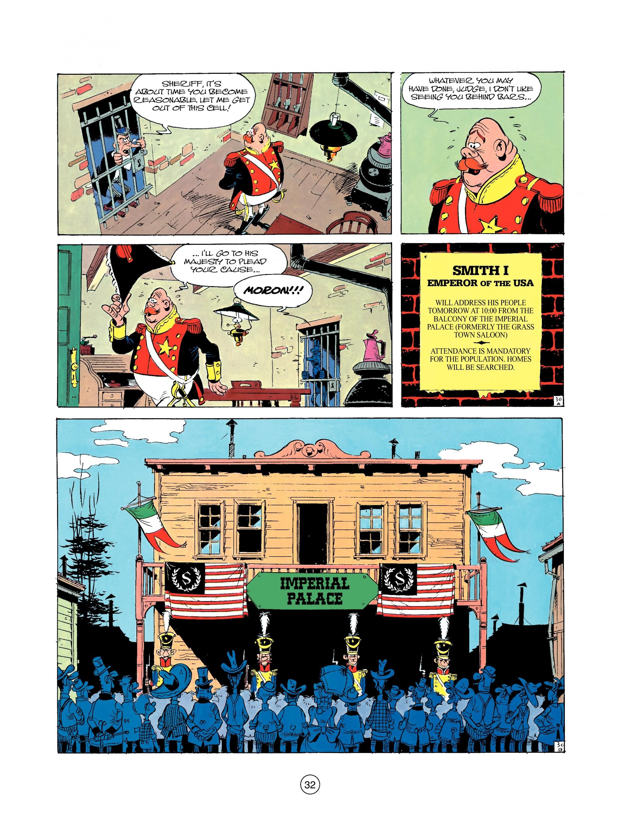 Read online A Lucky Luke Adventure comic -  Issue #22 - 32