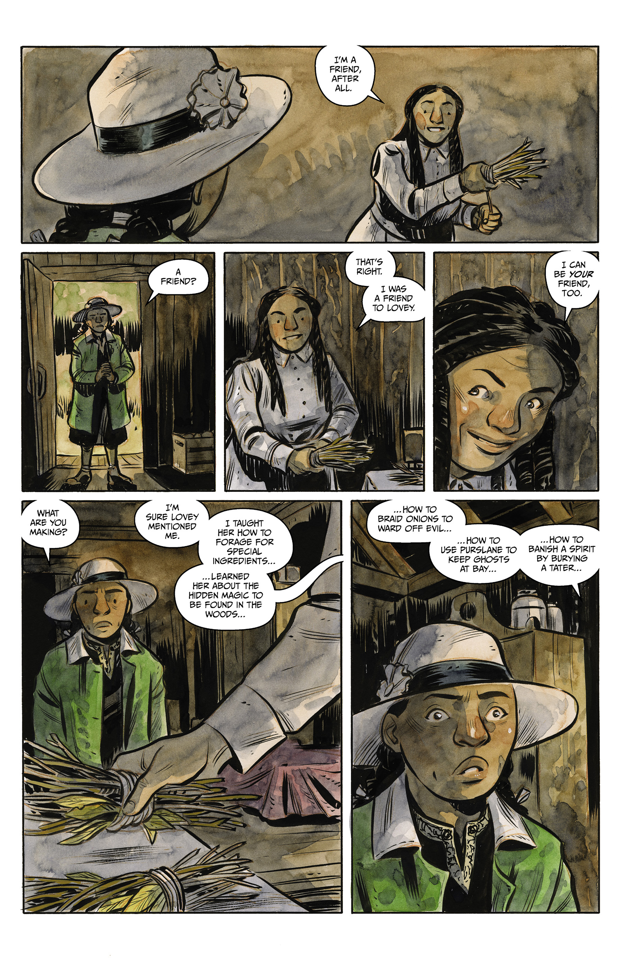Read online Harrow County comic -  Issue #23 - 22
