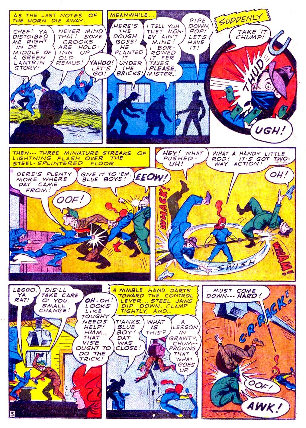 Read online Sensation (Mystery) Comics comic -  Issue #29 - 27