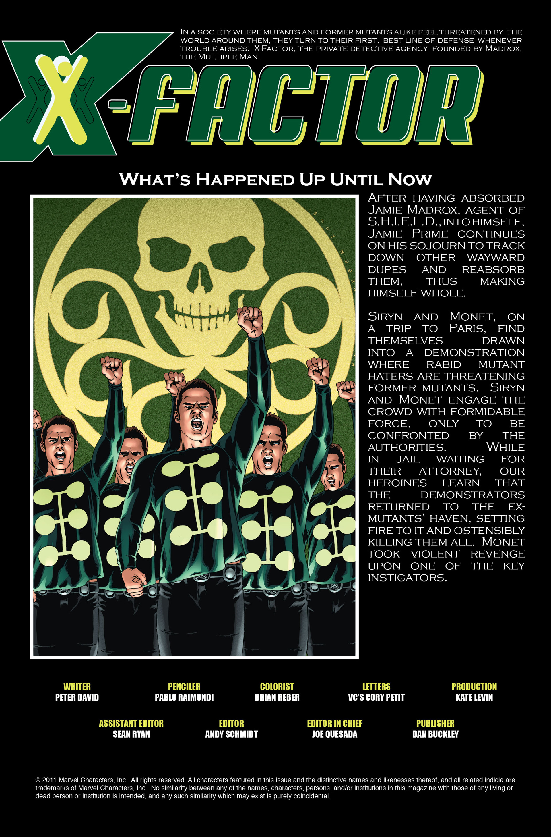 Read online X-Factor (2006) comic -  Issue #16 - 2