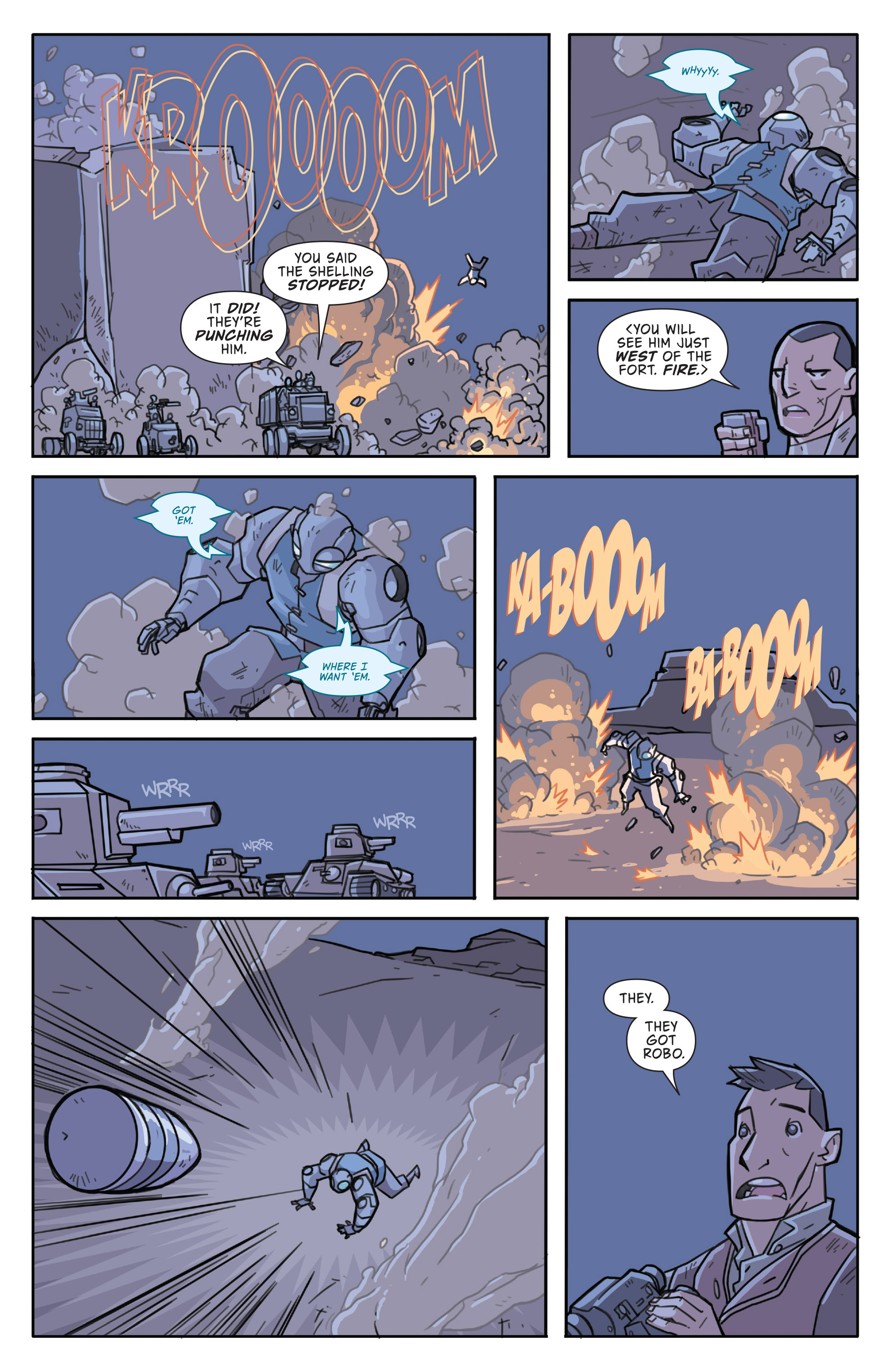 Read online Atomic Robo and the Temple of Od comic -  Issue #3 - 23