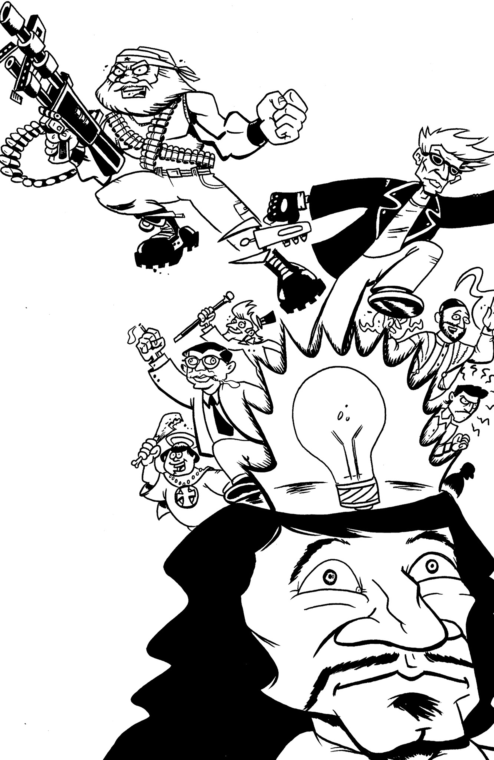 Read online Action Philosophers! comic -  Issue #Action Philosophers! TPB (Part 1) - 128