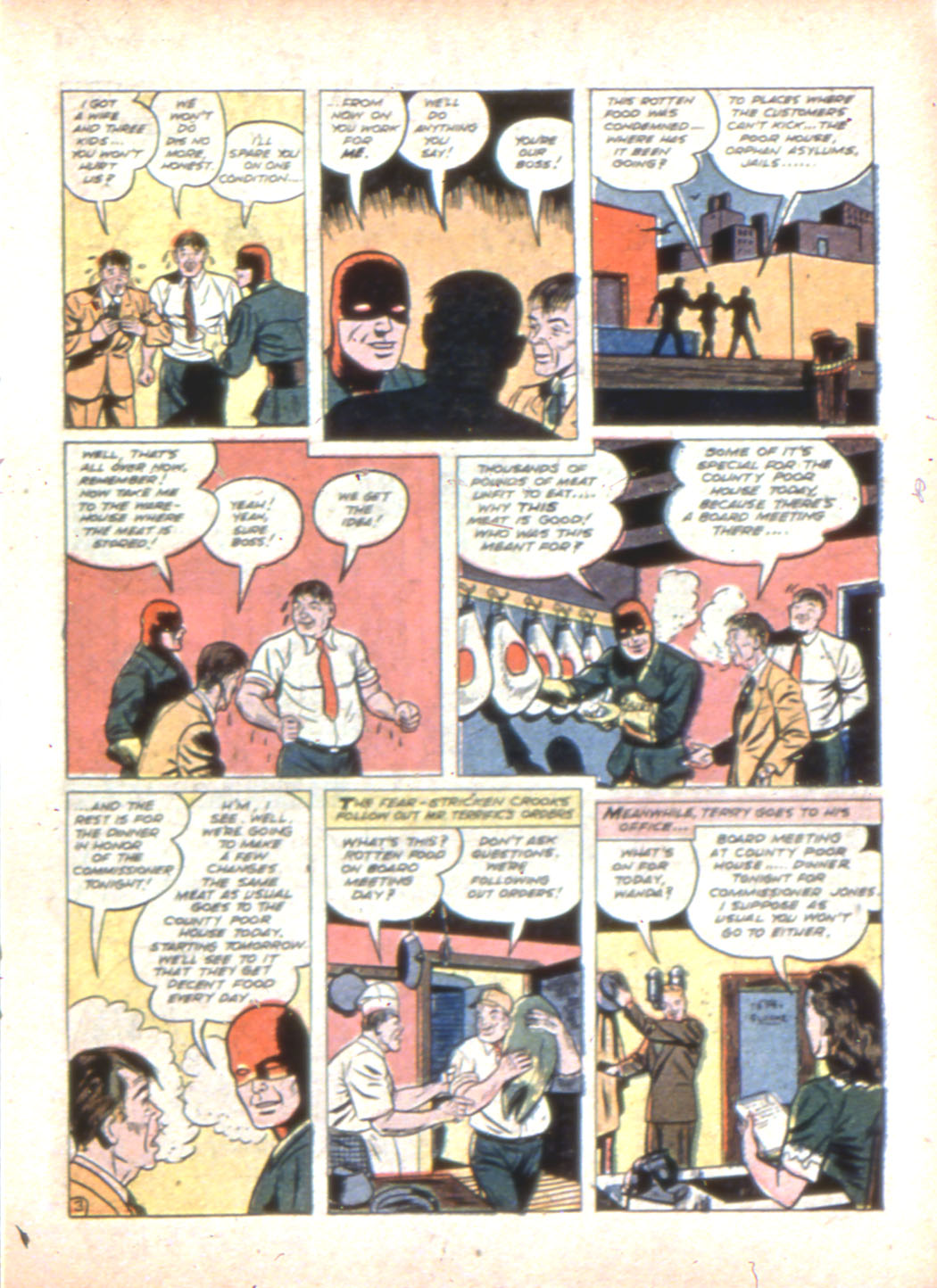 Read online Sensation (Mystery) Comics comic -  Issue #7 - 27