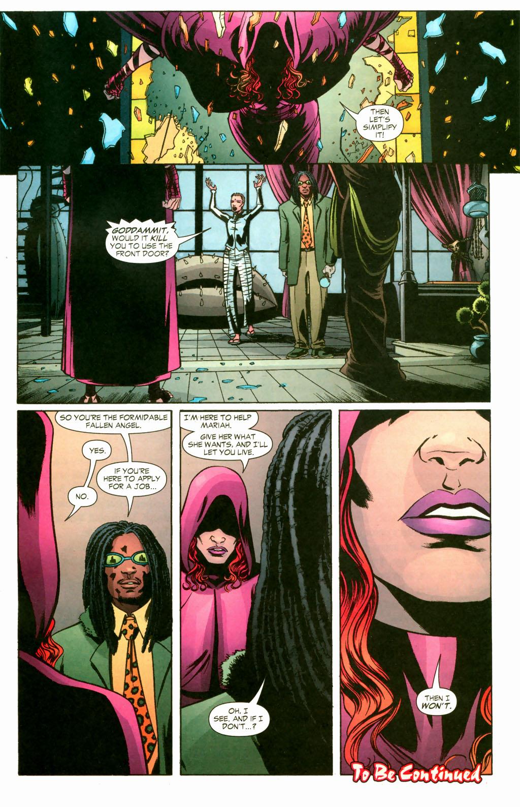 Read online Fallen Angel (2003) comic -  Issue #10 - 23
