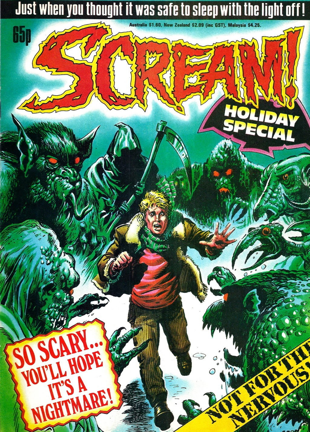Scream! Holiday Special 3 Page 1