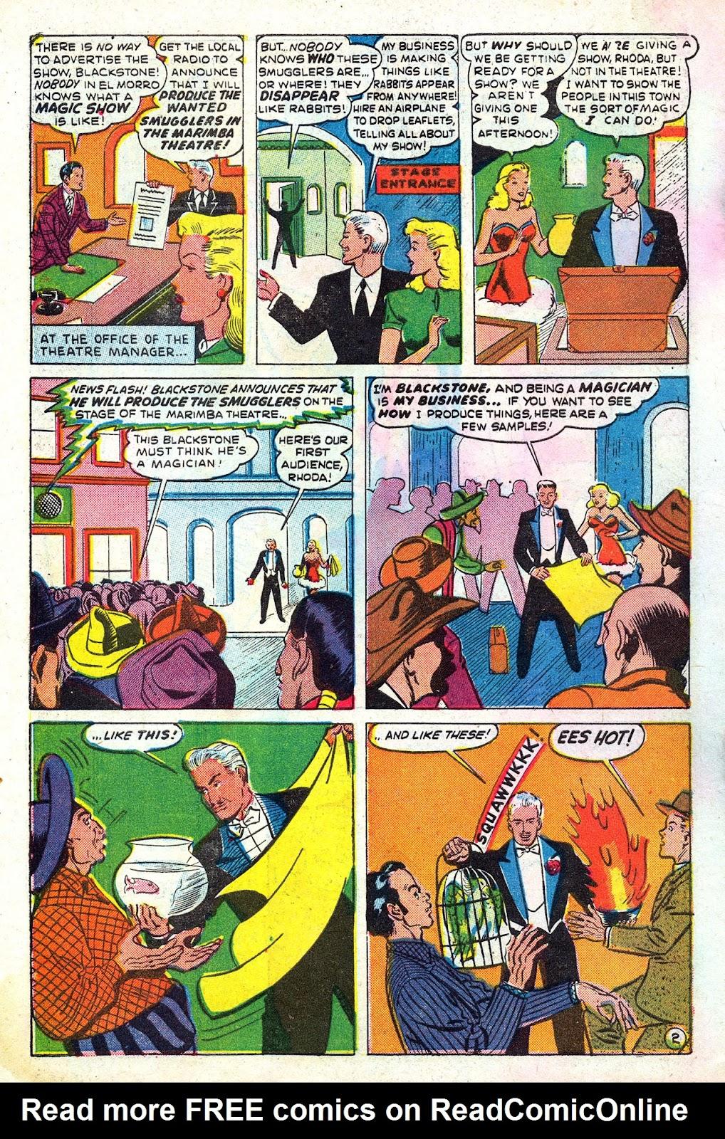 Read online Blackstone the Magician comic -  Issue #4 - 4