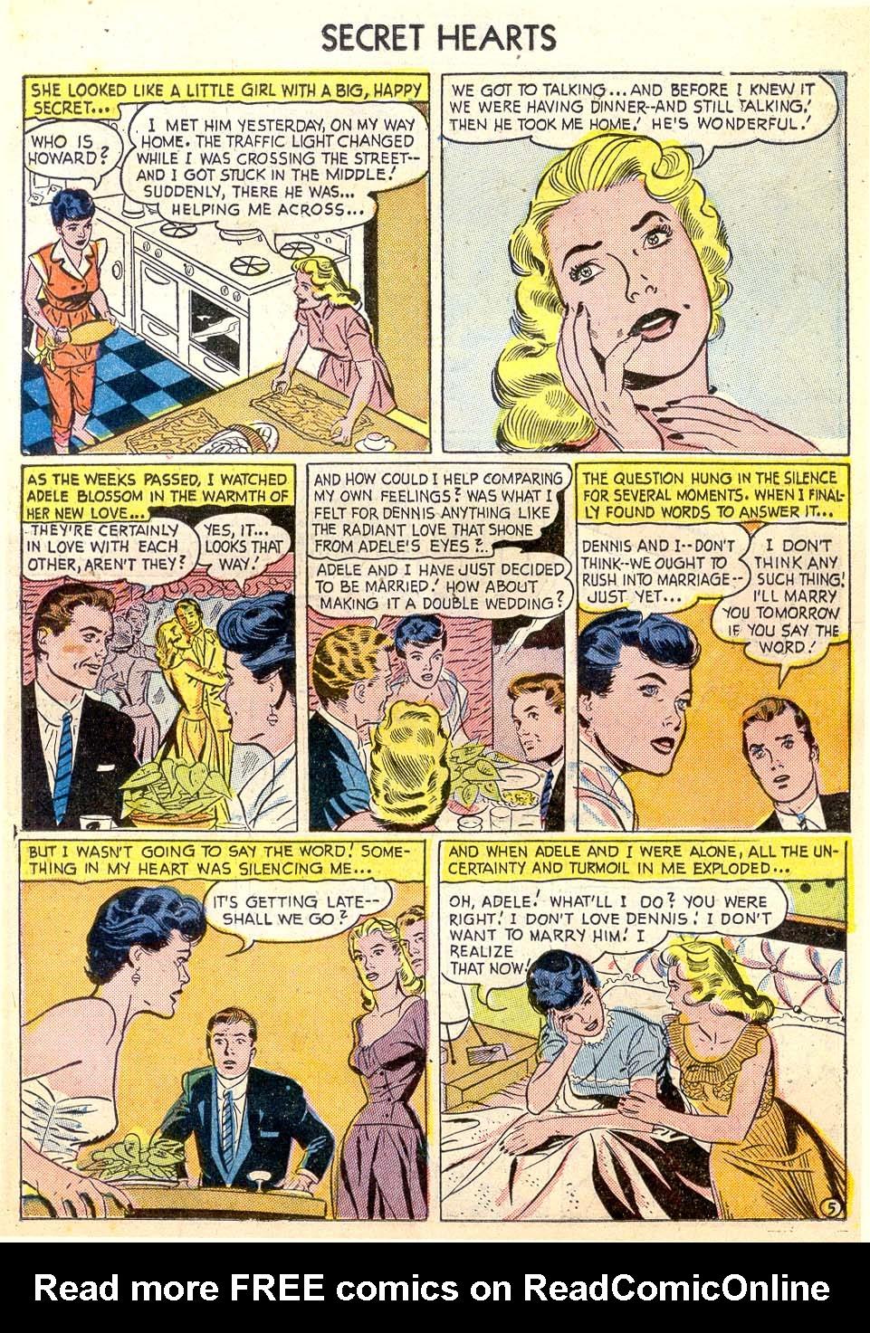 Read online Secret Hearts comic -  Issue #26 - 15
