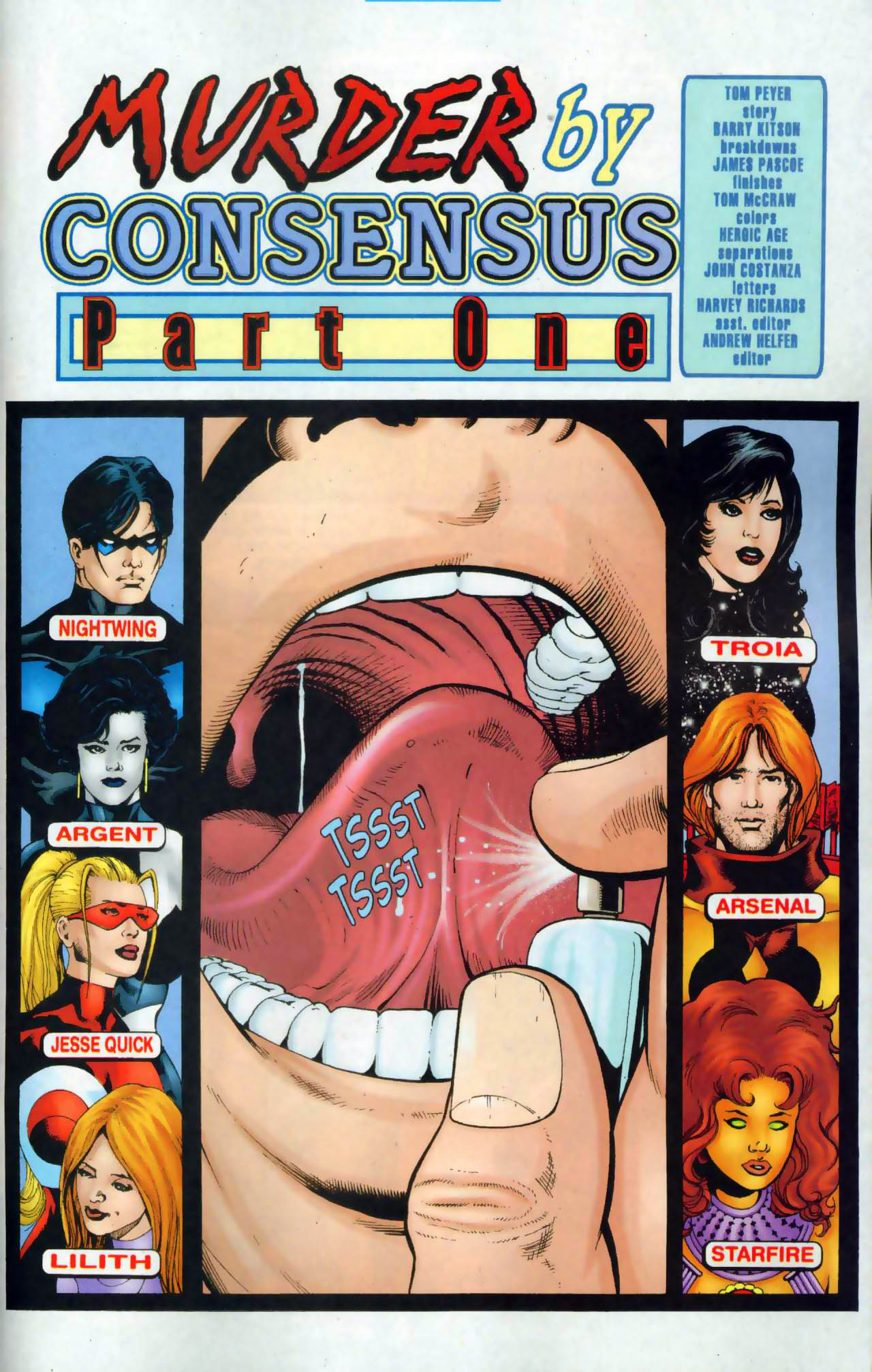 Read online The Titans (1999) comic -  Issue #48 - 2