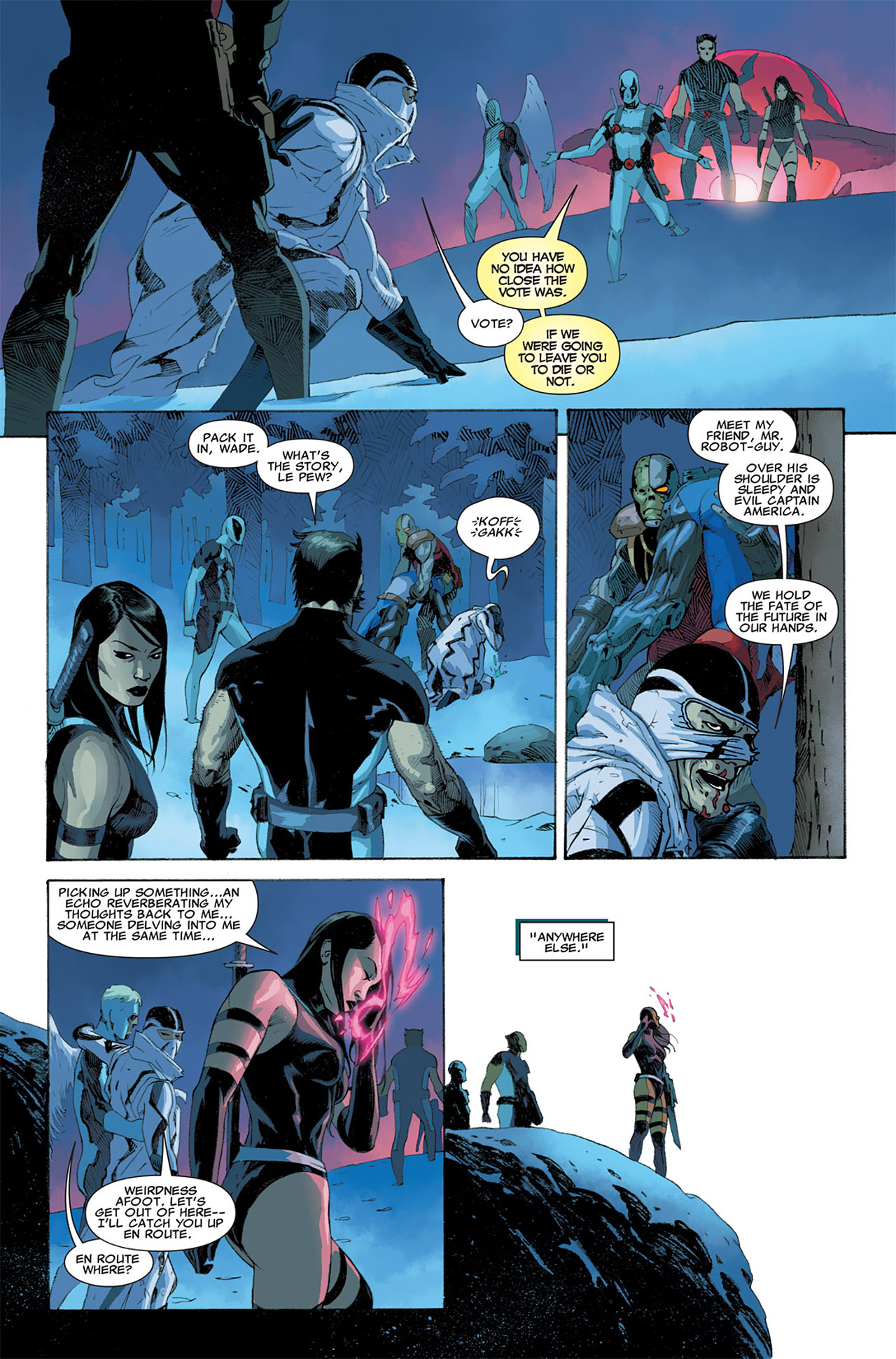 Read online Uncanny X-Force (2010) comic -  Issue #6 - 17