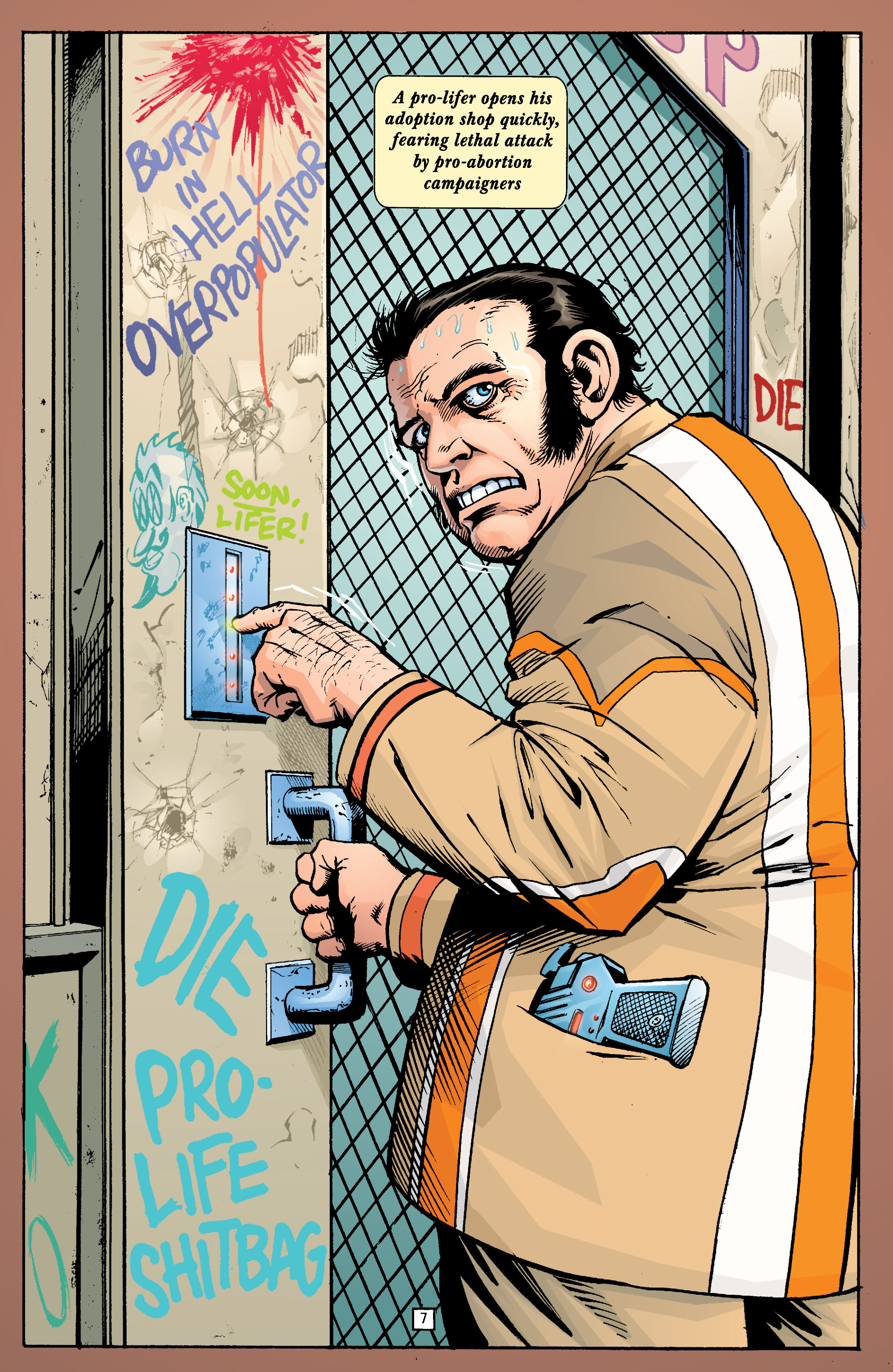Read online Transmetropolitan comic -  Issue #22 - 8