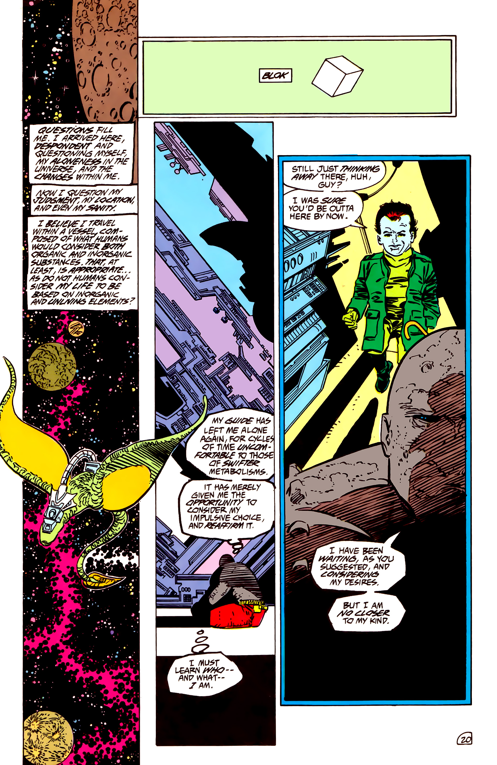 Legion of Super-Heroes (1984) 55 Page 20