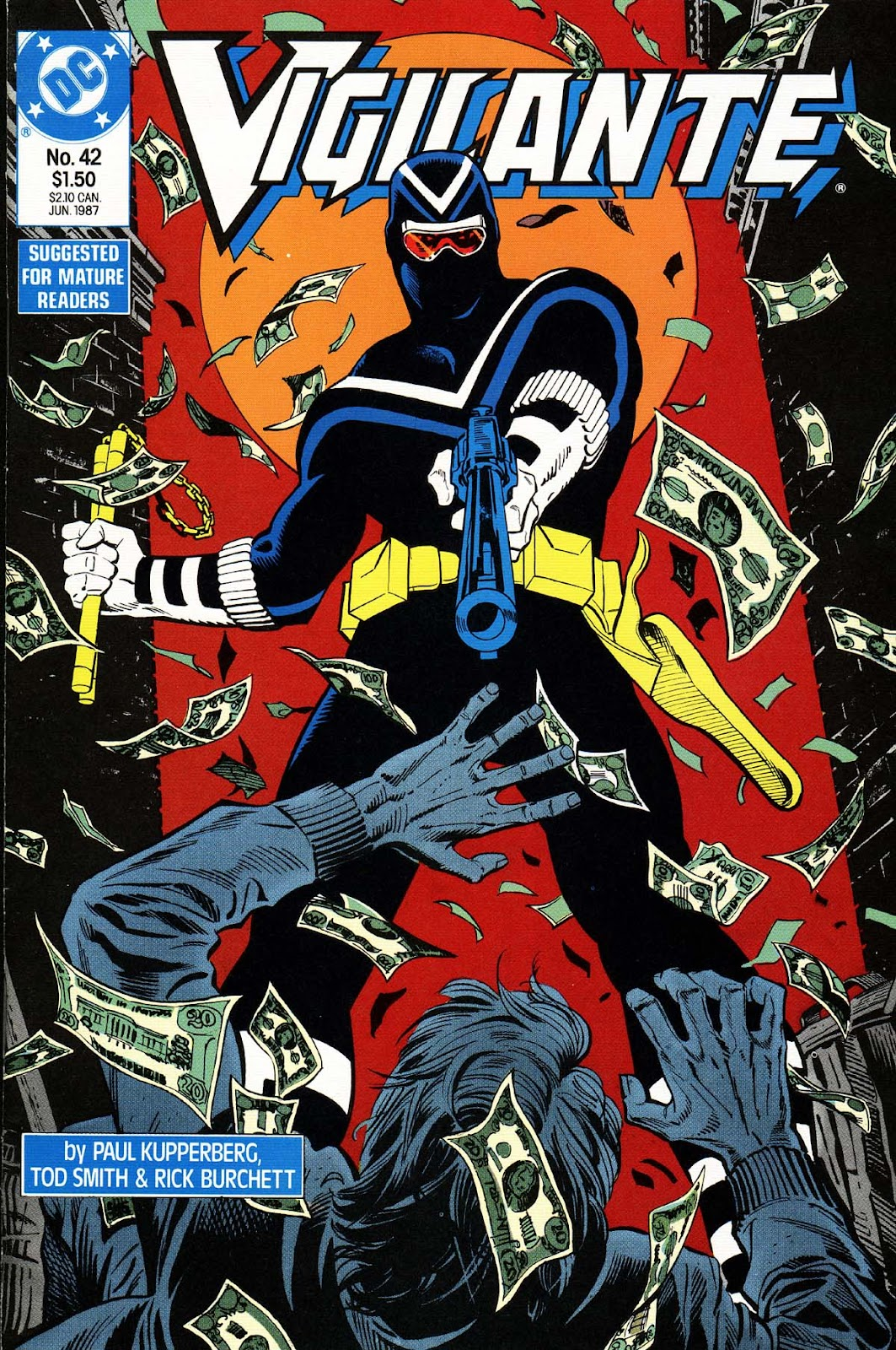 Vigilante (1983) issue 42 - Page 1