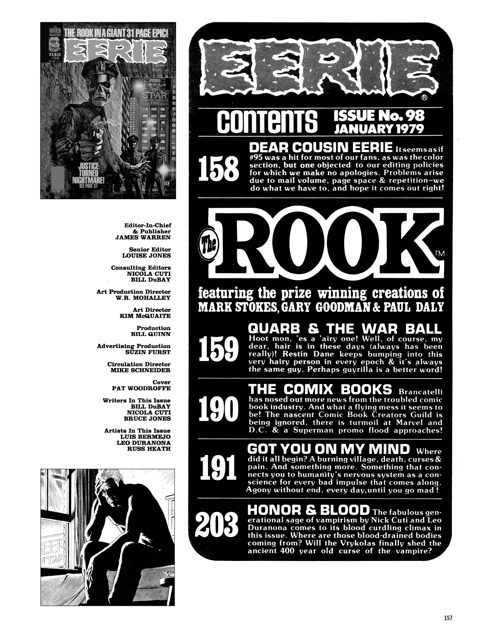 Read online Eerie Archives comic -  Issue # TPB 20 - 157