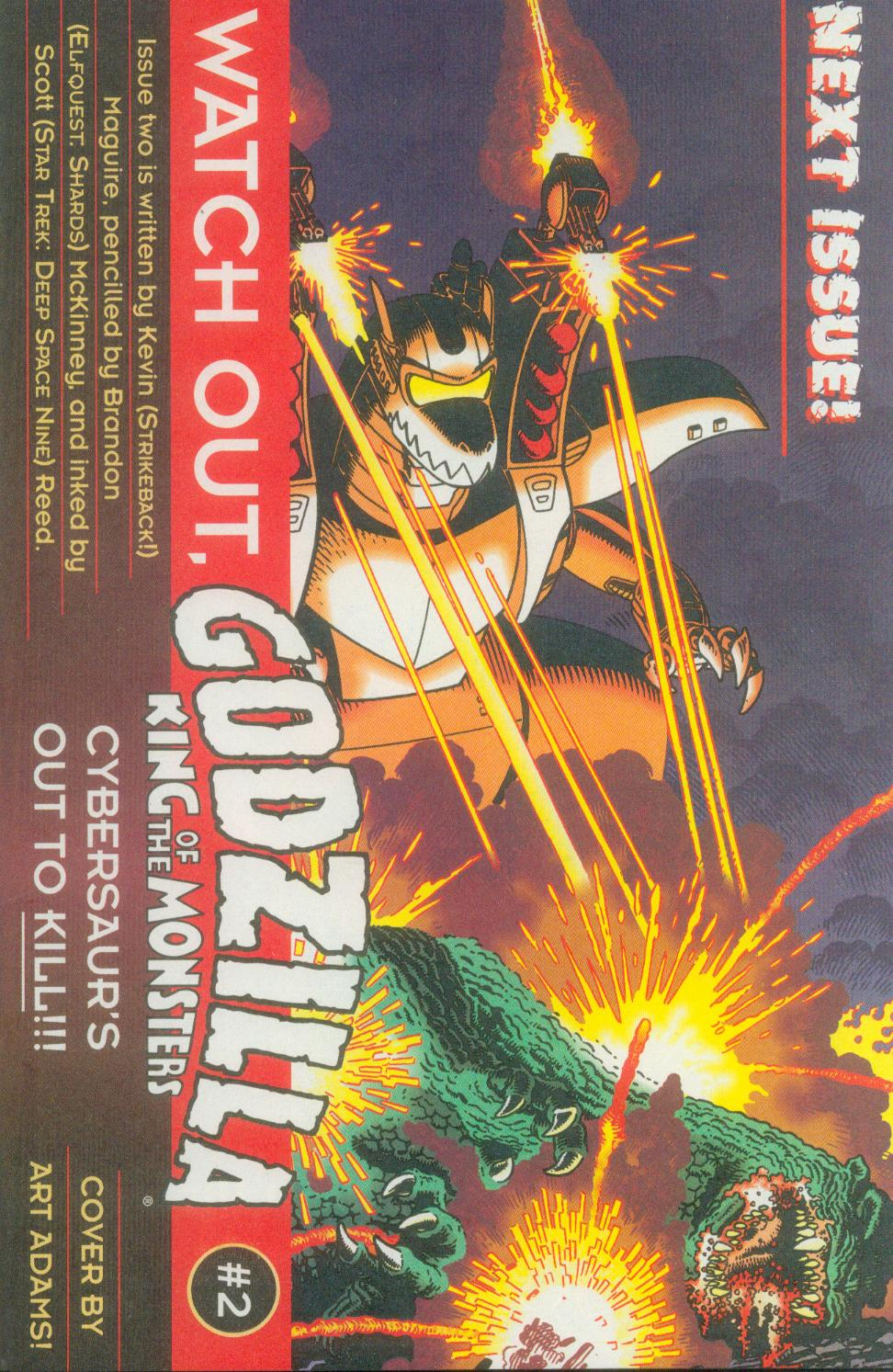 Godzilla (1995) Issue #1 #2 - English 28