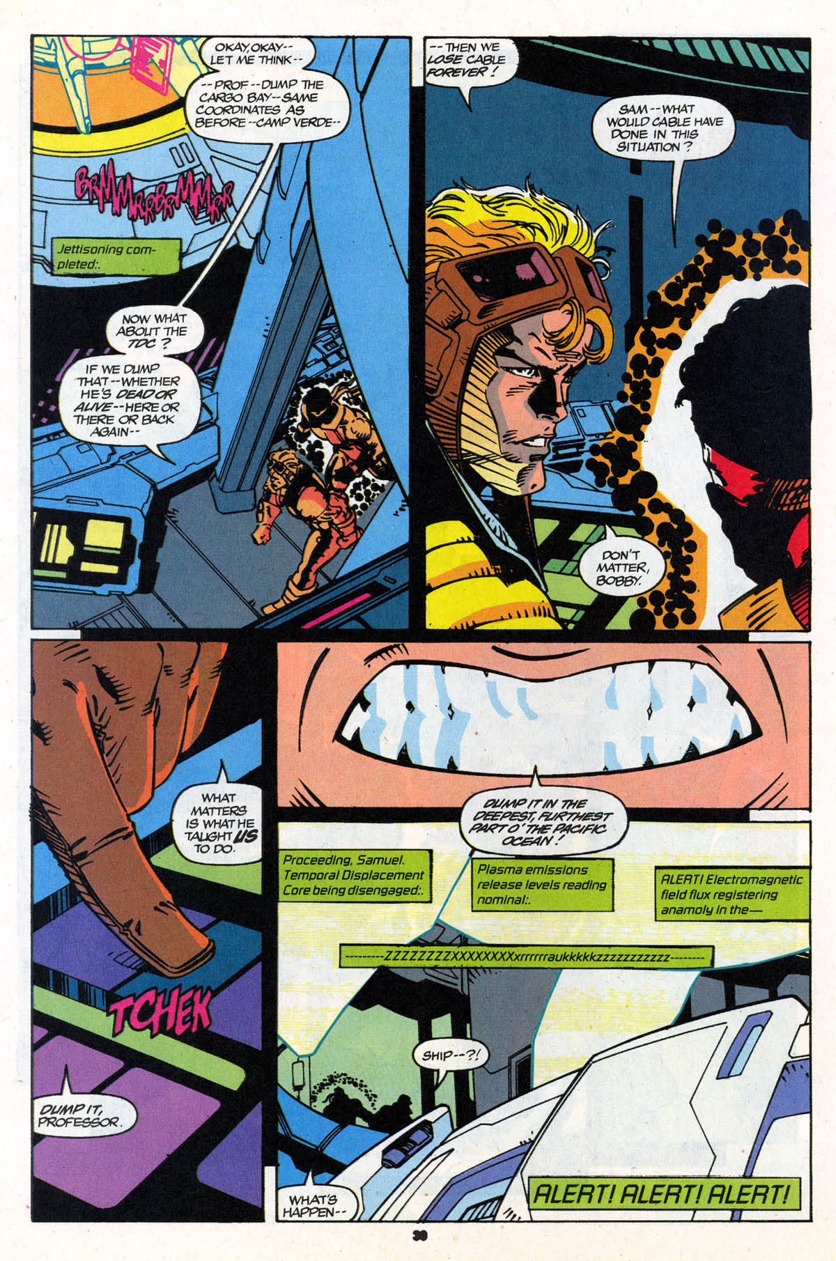 Read online X-Force (1991) comic -  Issue #21 - 31