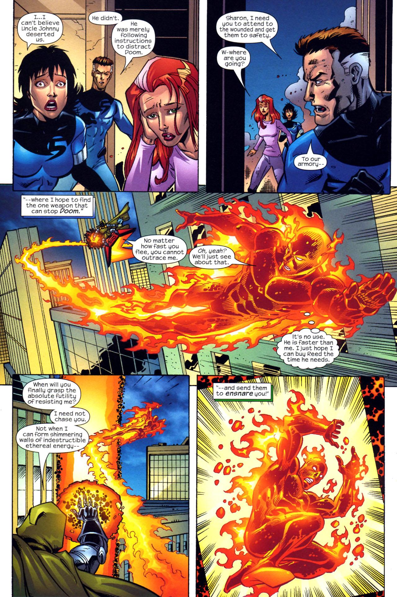 Read online Fantastic Five (2007) comic -  Issue #2 - 15