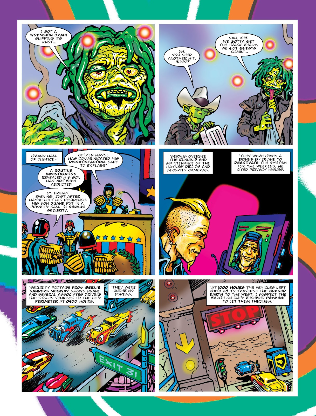 Read online 2000 AD comic -  Issue #2033 - 5