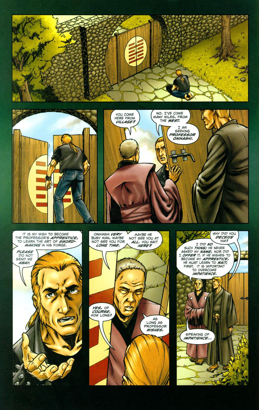 Read online Snake Eyes: Declassified comic -  Issue #4 - 9