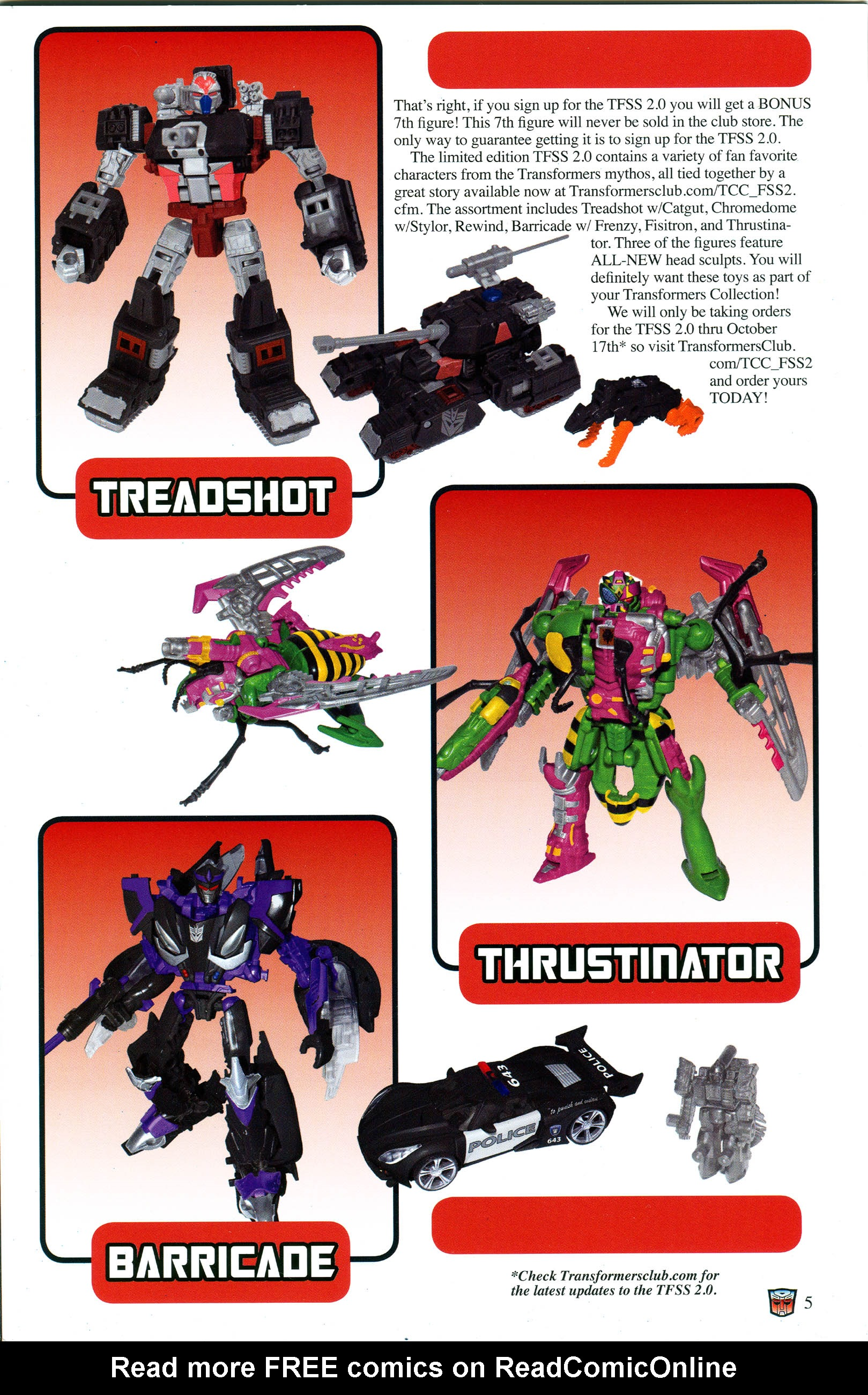 Read online Transformers: Collectors' Club comic -  Issue #53 - 5