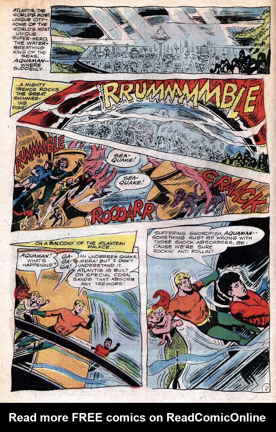 Read online Aquaman (1962) comic -  Issue #32 - 4