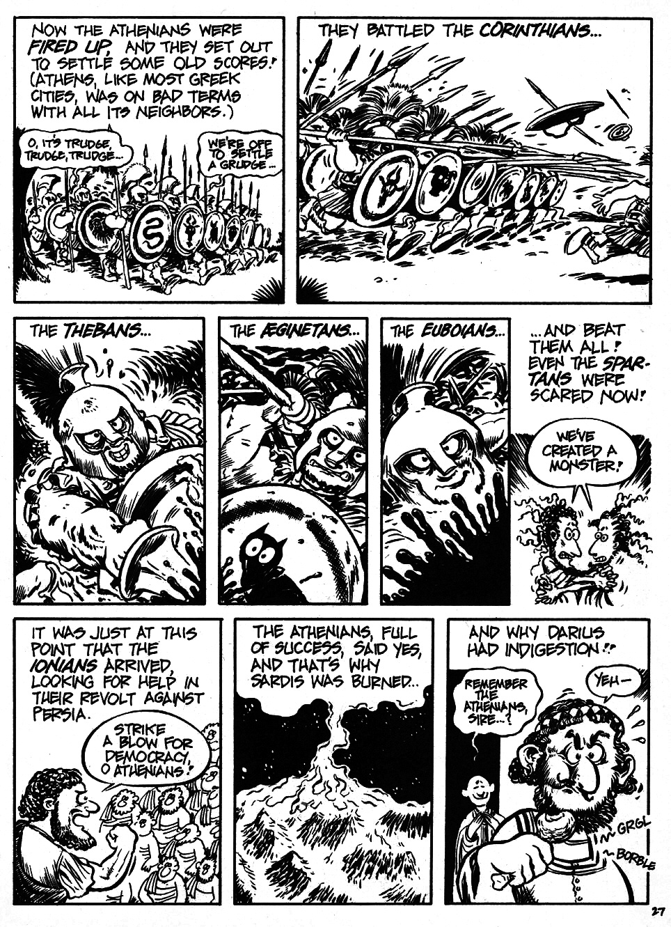 Read online The Cartoon History of the Universe comic -  Issue #6 - 29