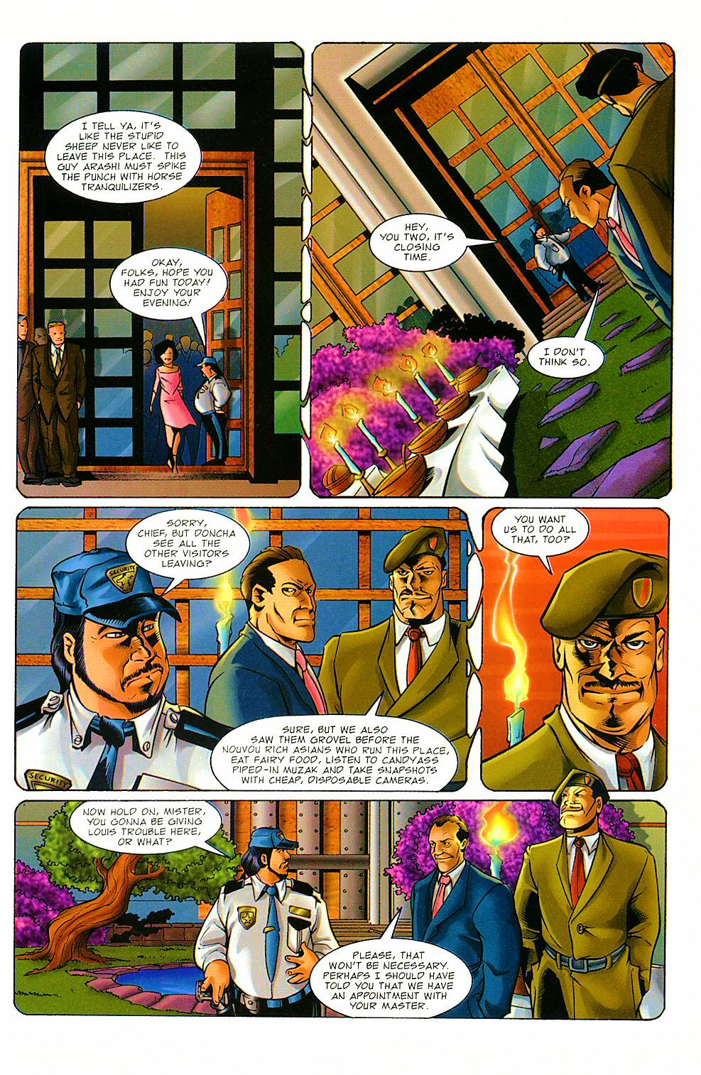 Read online Shi: The Way of the Warrior comic -  Issue #8 - 9