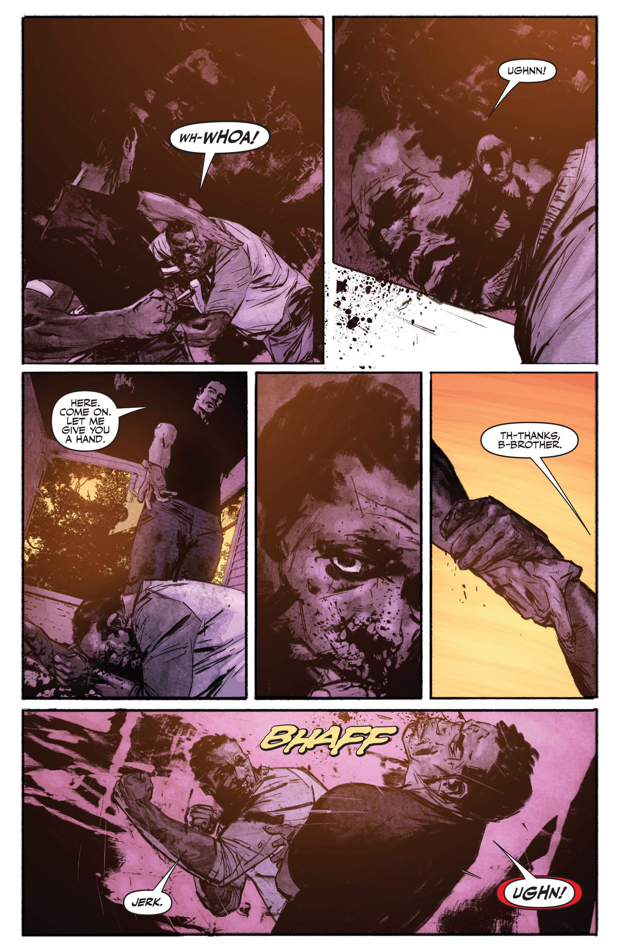 Read online Shadowman (2012) comic -  Issue #16 - 10