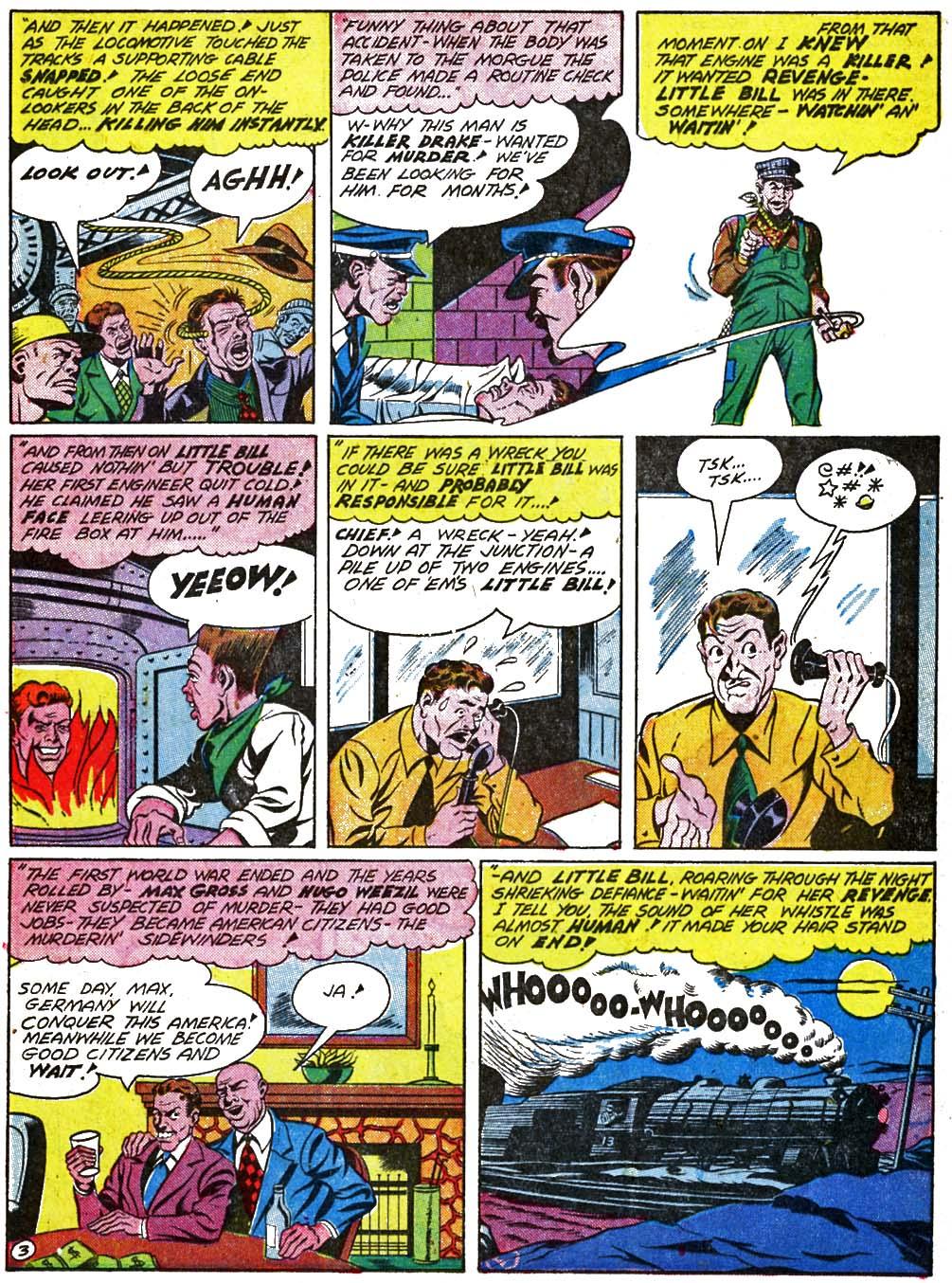 Read online Sensation (Mystery) Comics comic -  Issue #29 - 33