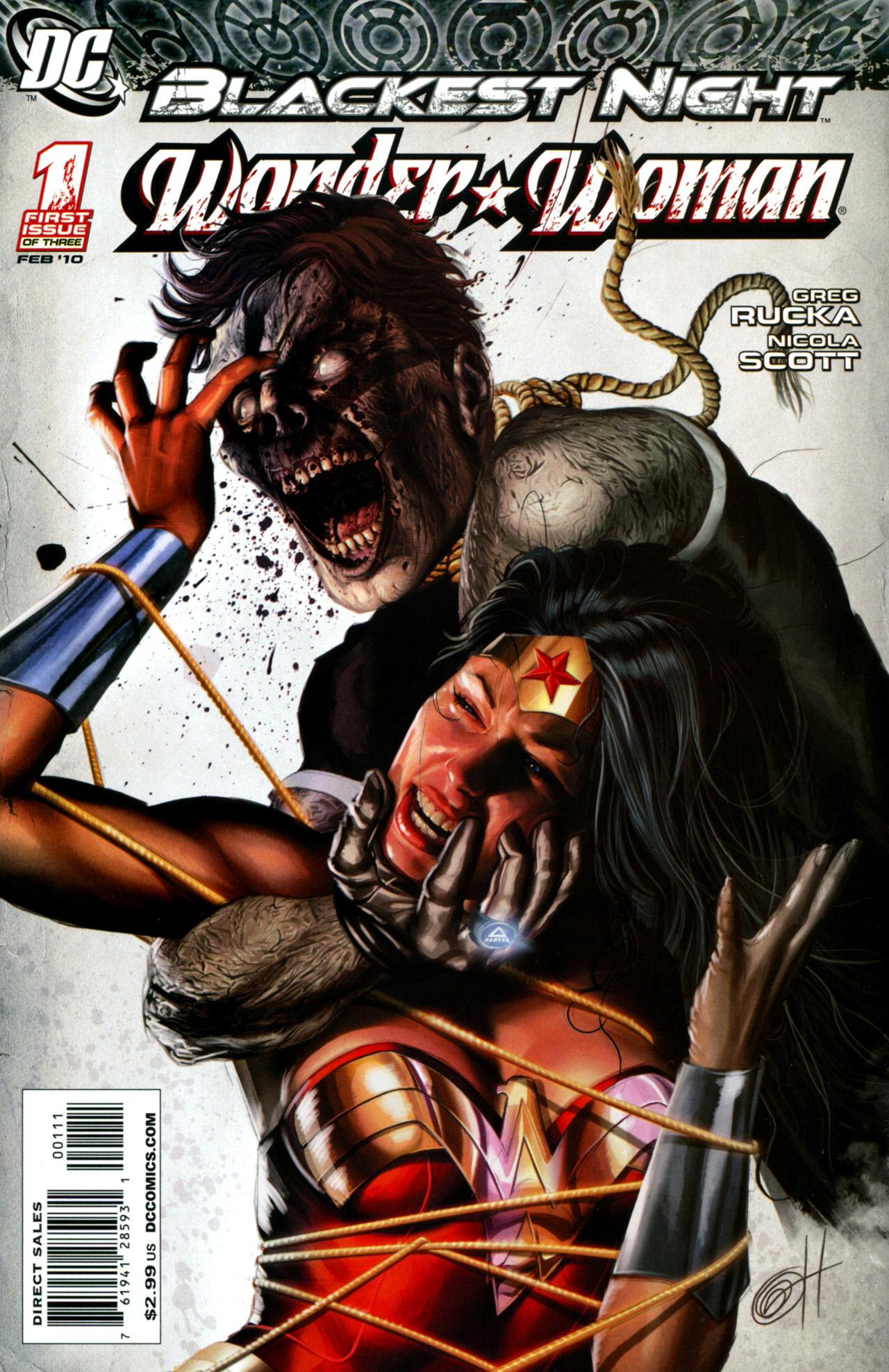 Blackest Night: Wonder Woman 1 Page 1