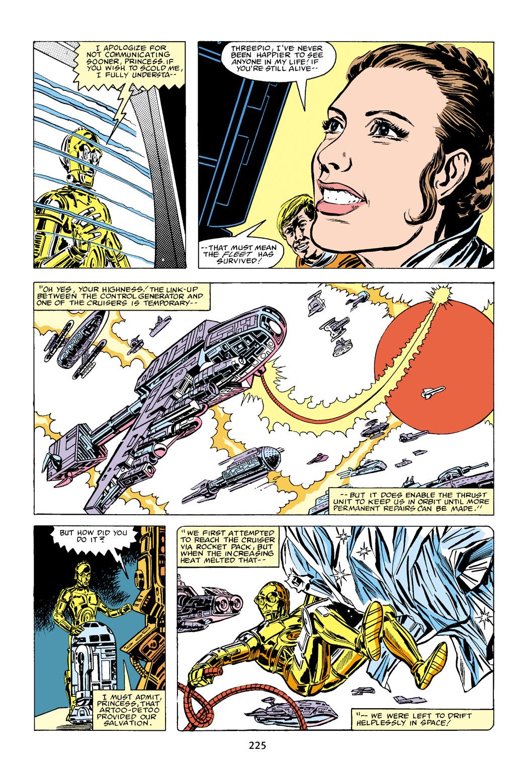 Read online Star Wars Omnibus comic -  Issue # Vol. 16 - 222