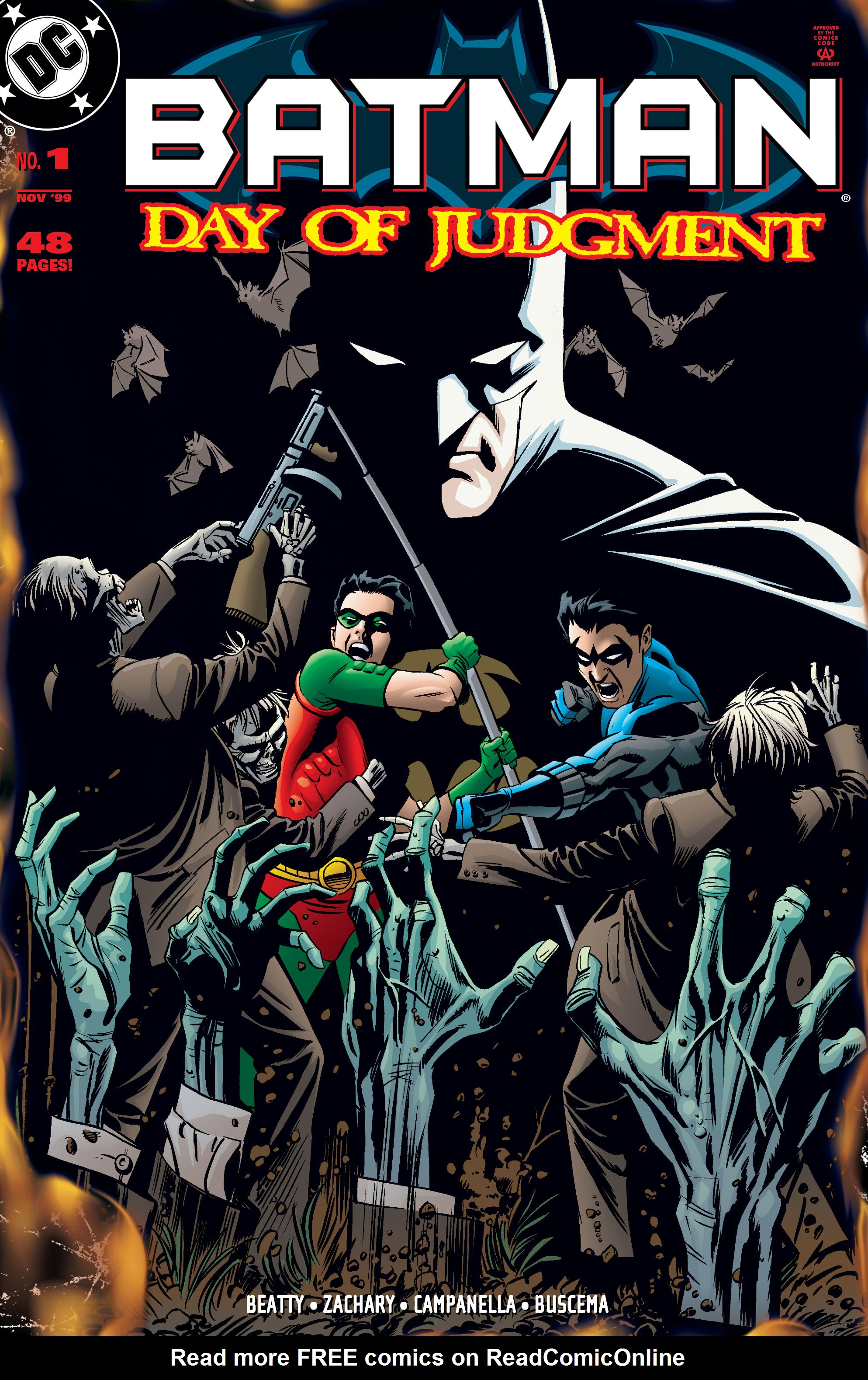 Batman: Day of Judgment Full Page 1