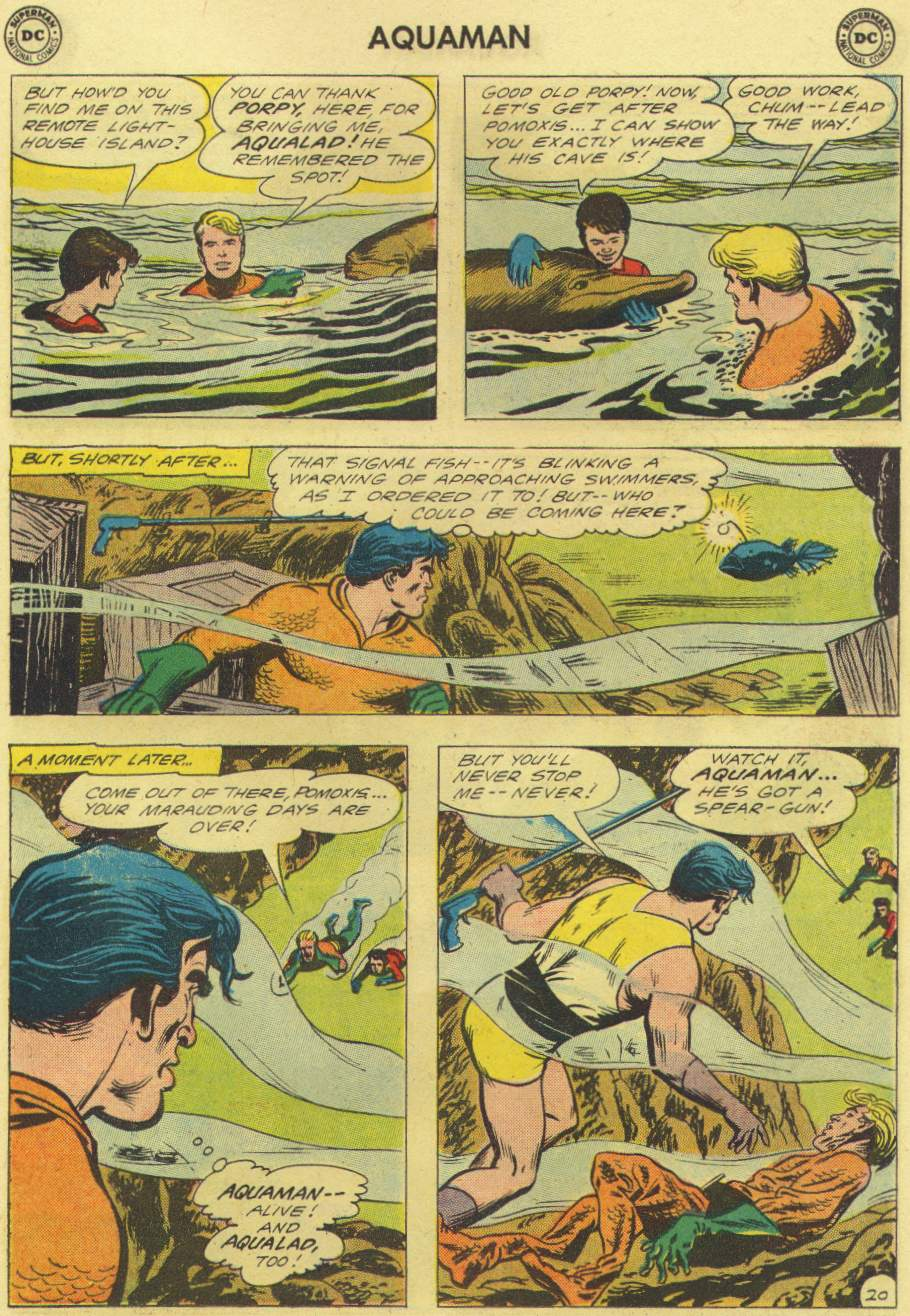 Read online Aquaman (1962) comic -  Issue #3 - 27