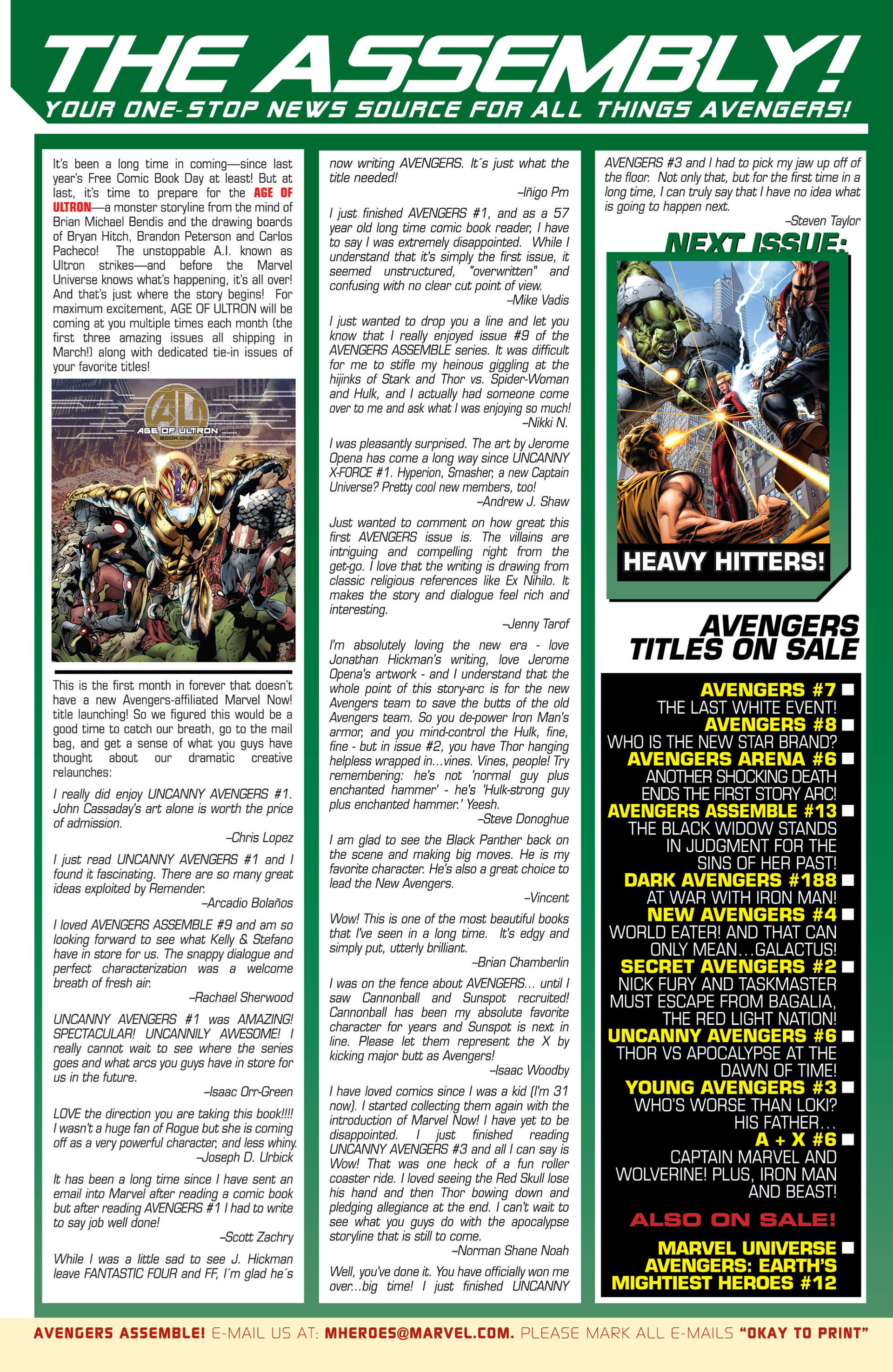 Read online Avengers (2013) comic -  Issue #8 - 24
