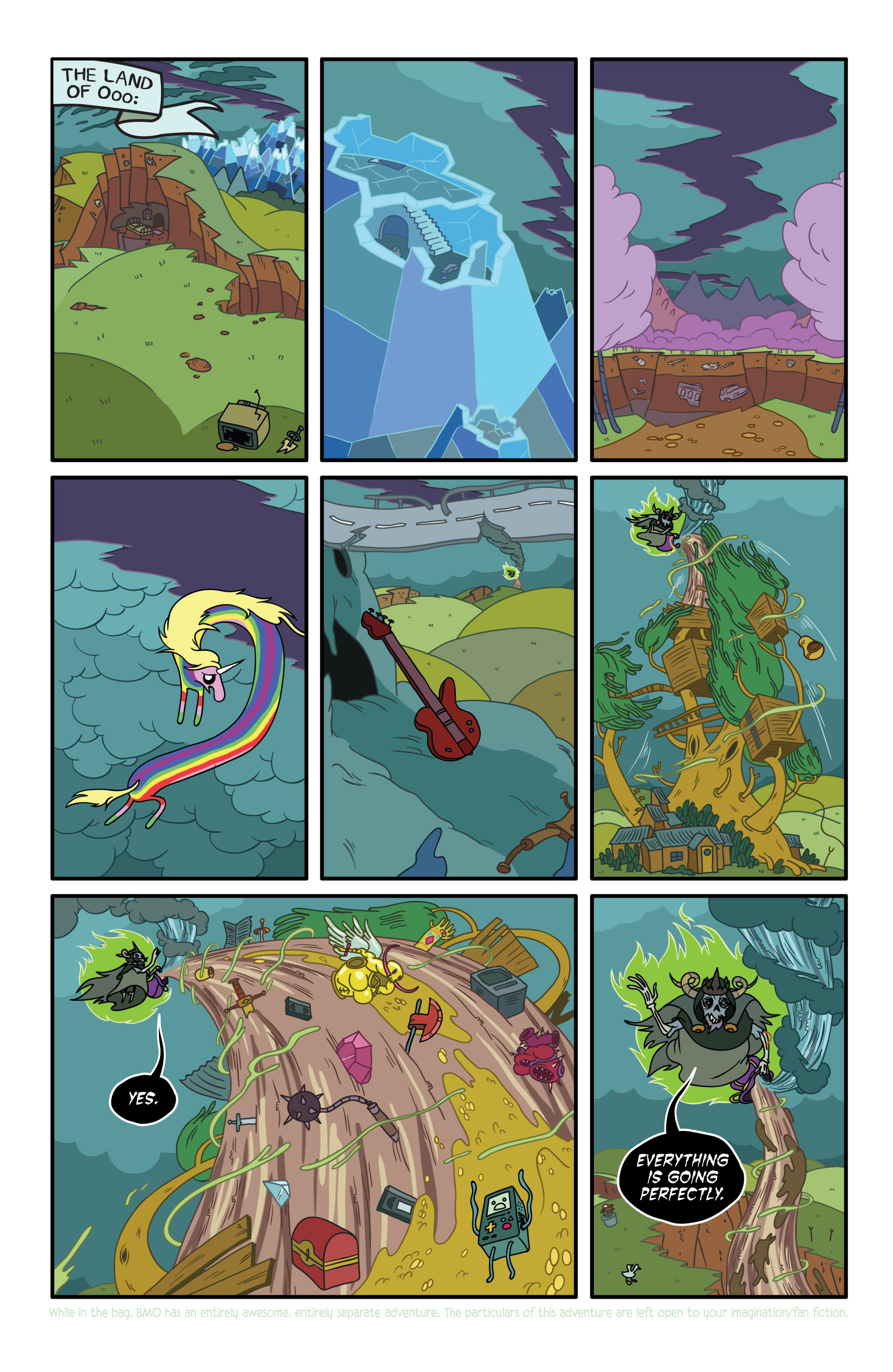 Read online Adventure Time comic -  Issue #2 - 6