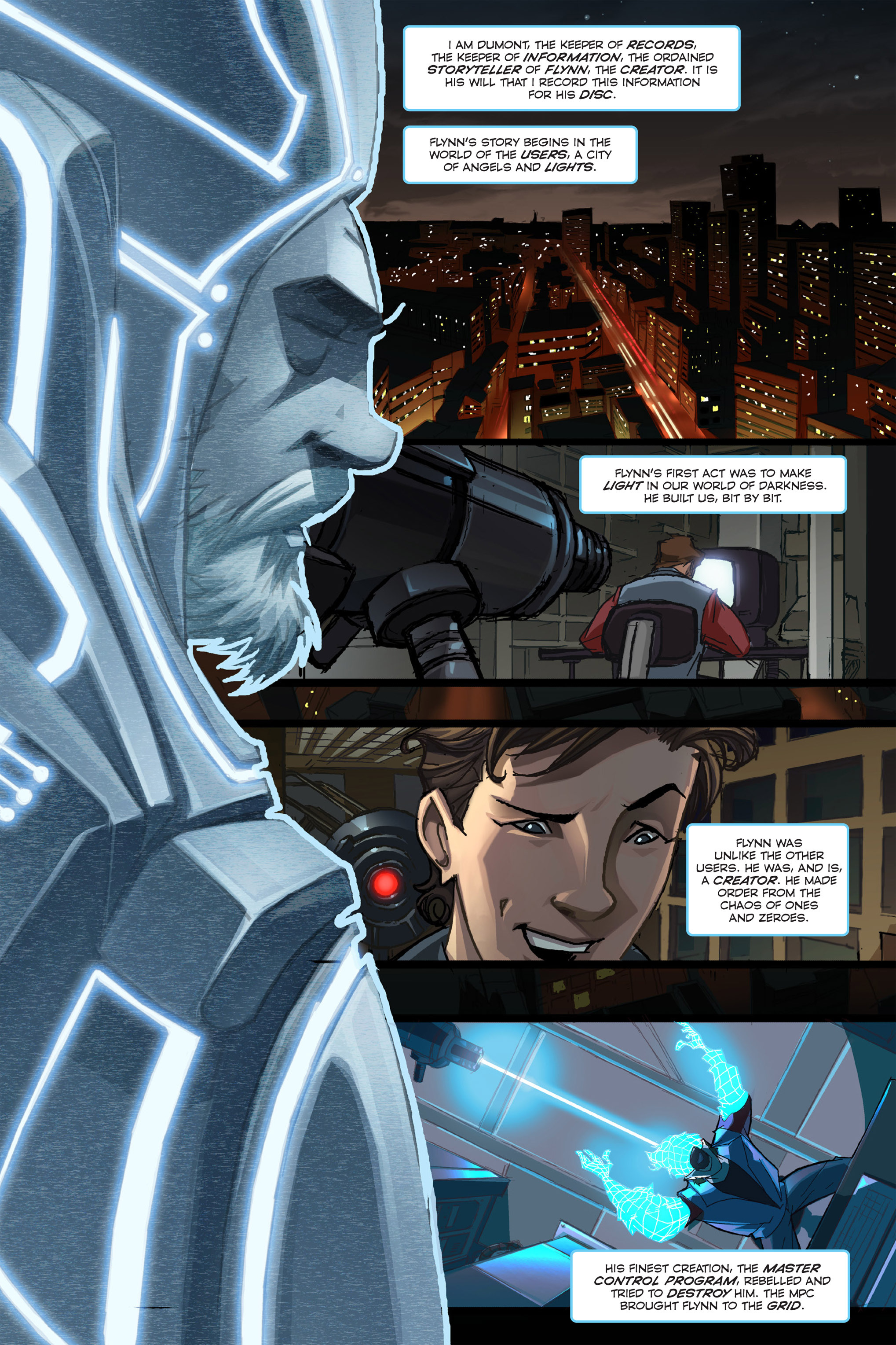 Read online TRON: Betrayal comic -  Issue # TPB - 3
