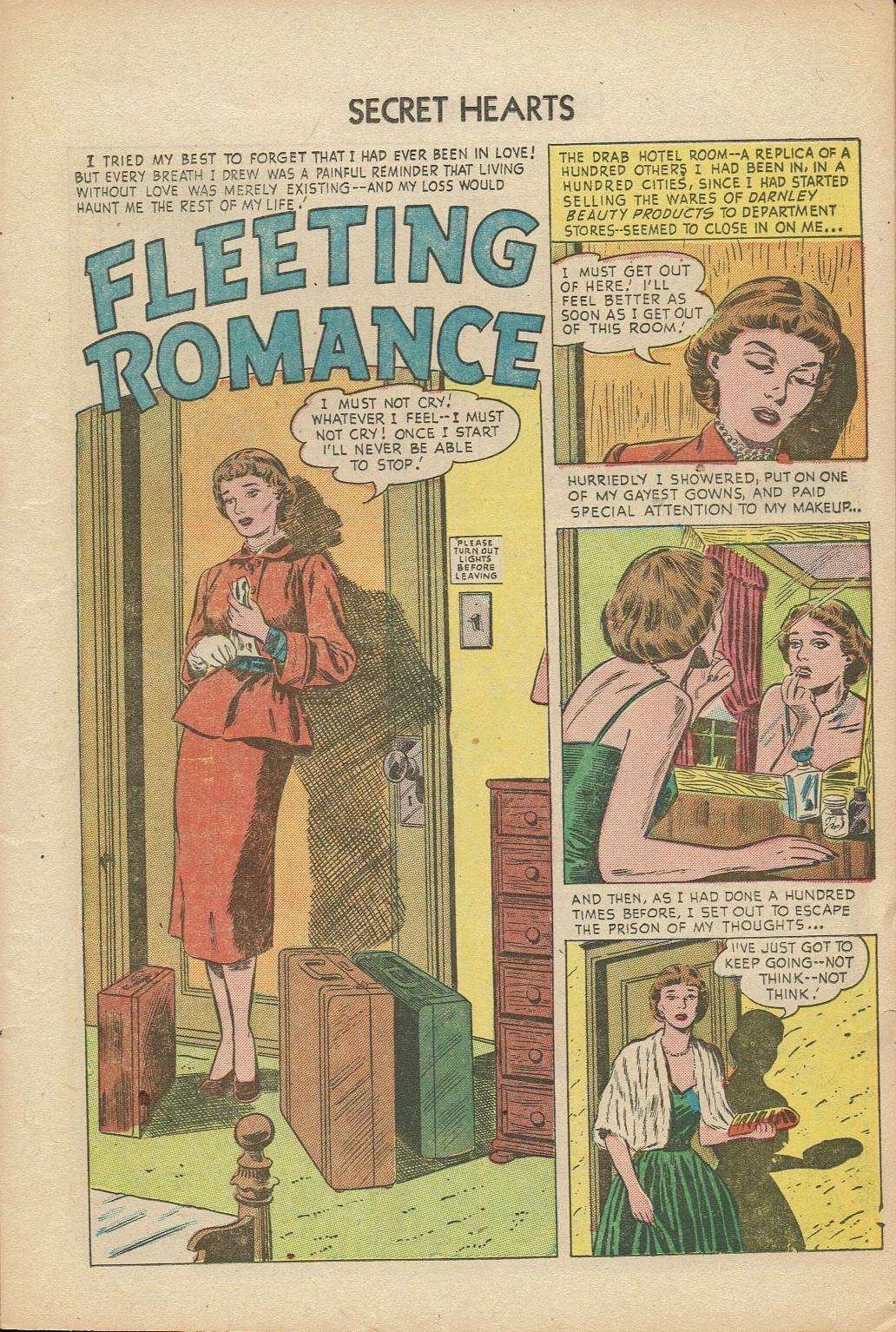 Read online Secret Hearts comic -  Issue #14 - 11