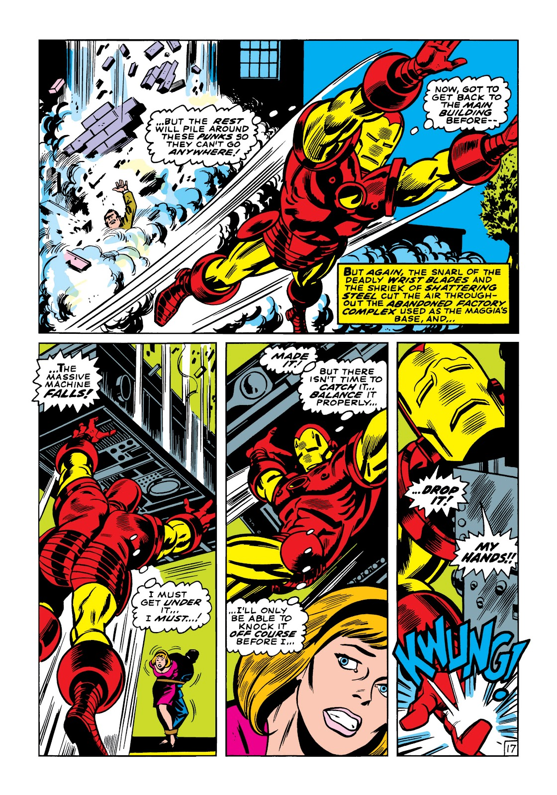 Read online Marvel Masterworks: The Invincible Iron Man comic -  Issue # TPB 5 (Part 2) - 29