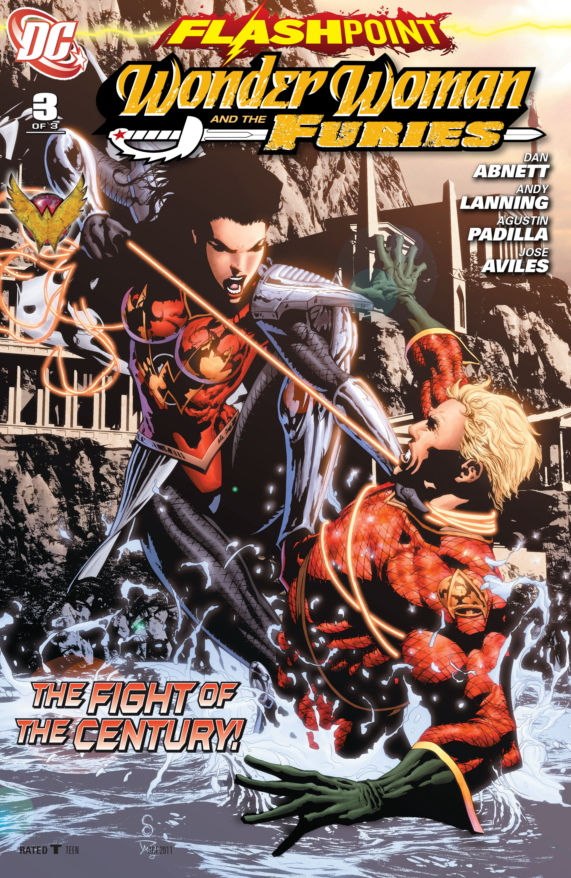 Flashpoint: Wonder Woman and the Furies 3 Page 1